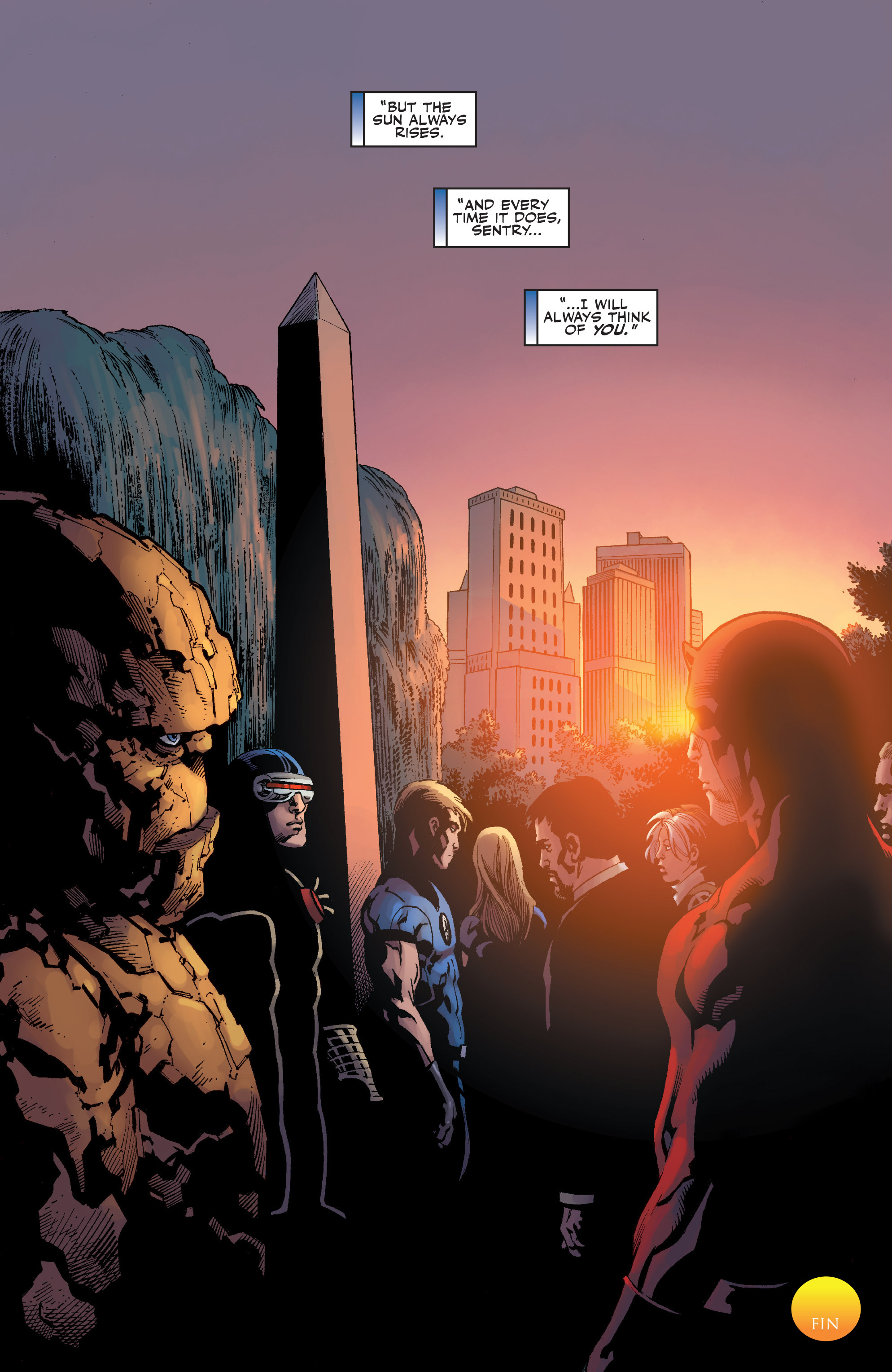 Read online Sentry: Fallen Sun comic -  Issue # Full - 24
