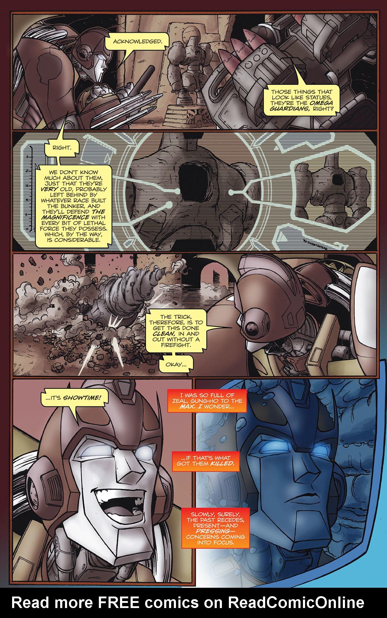 Read online Transformers Spotlight: Hot Rod comic -  Issue # Full - 8