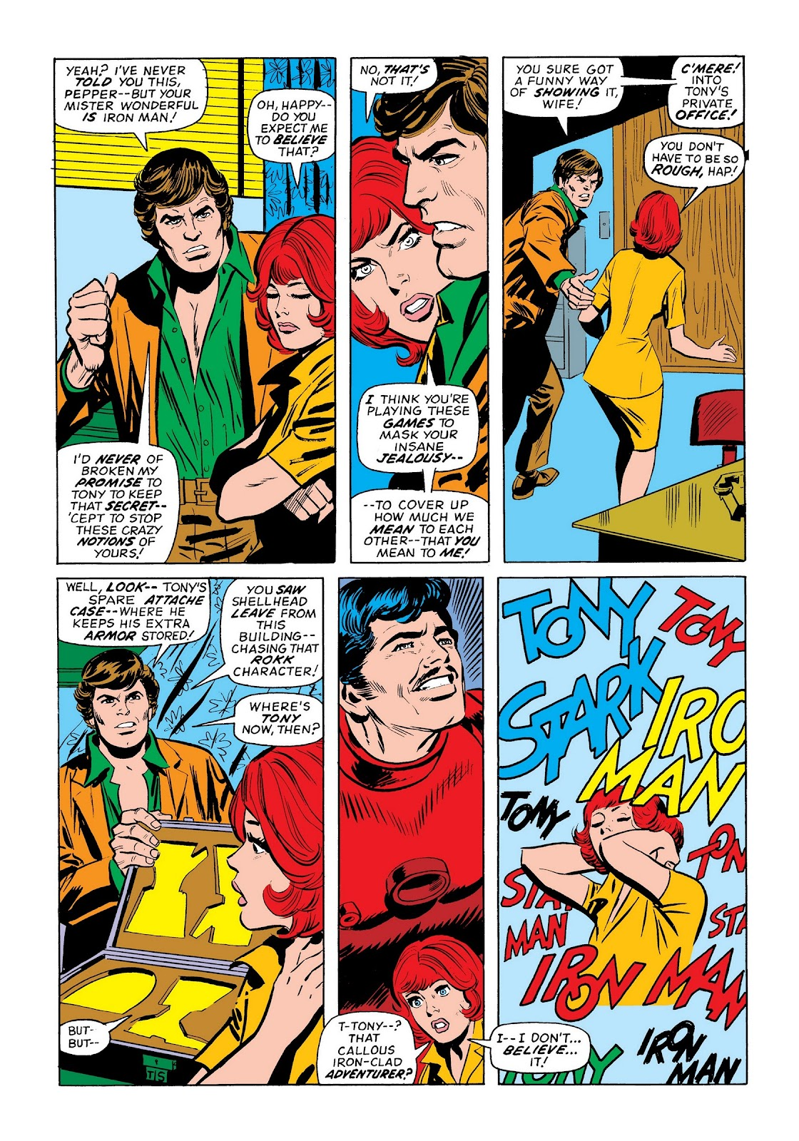 Read online Marvel Masterworks: The Invincible Iron Man comic -  Issue # TPB 9 (Part 3) - 40