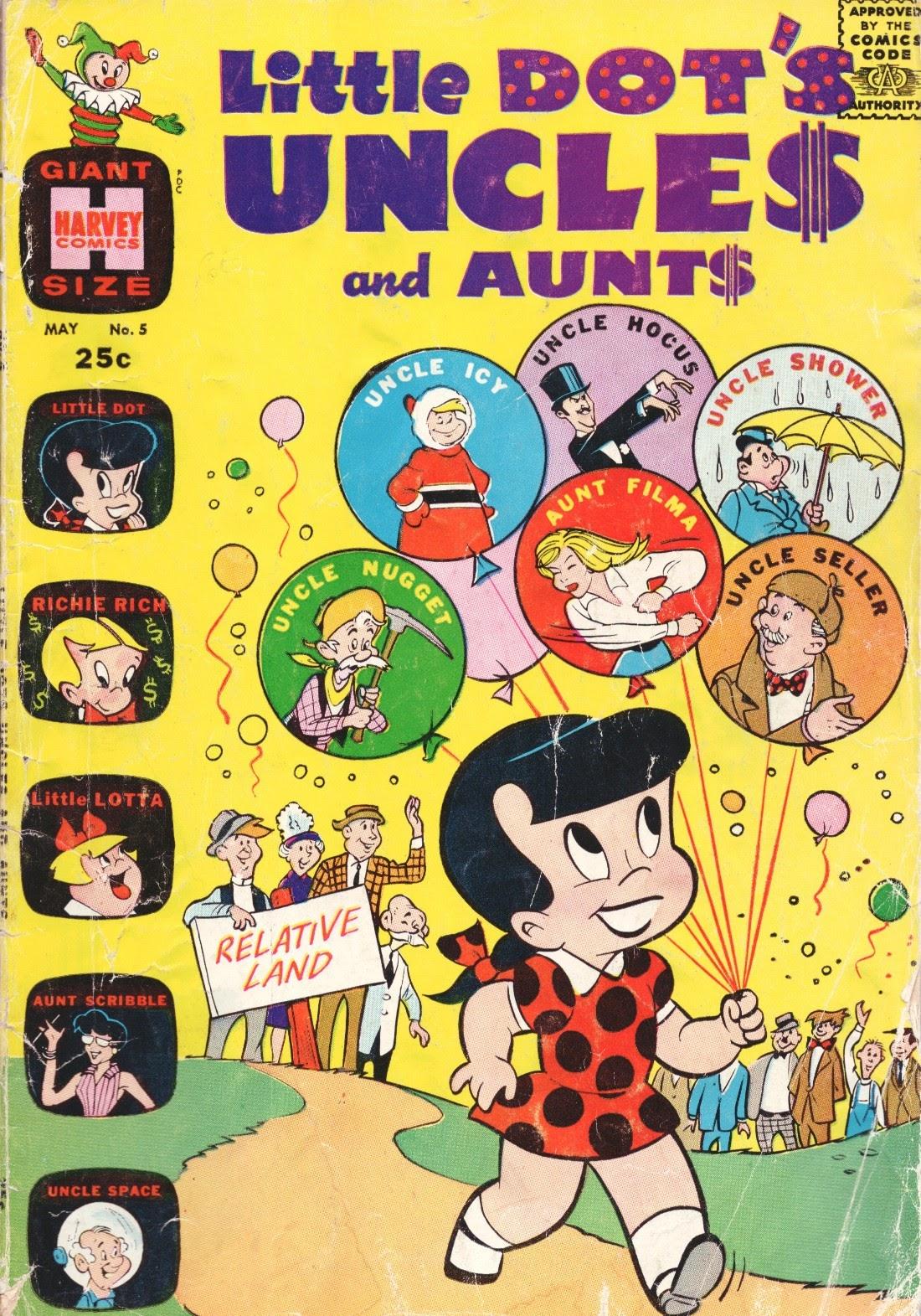 Little Dots Uncles and Aunts 5 Page 1