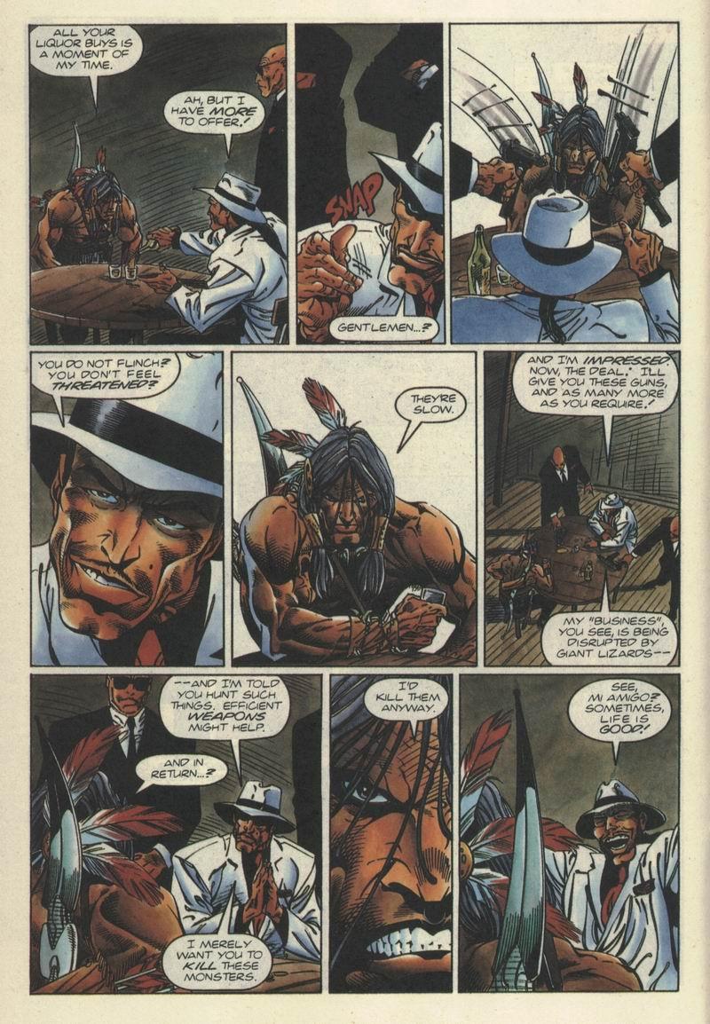 Read online Turok, Dinosaur Hunter (1993) comic -  Issue #2 - 10