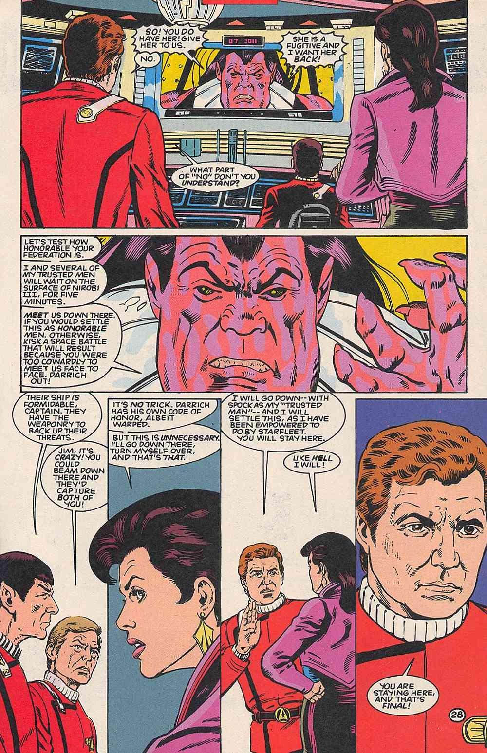 Read online Star Trek (1989) comic -  Issue # _Special 1 - 33