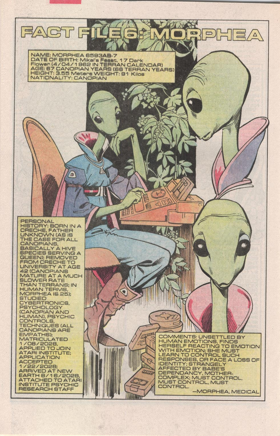 Read online Atari Force (1984) comic -  Issue #3 - 25