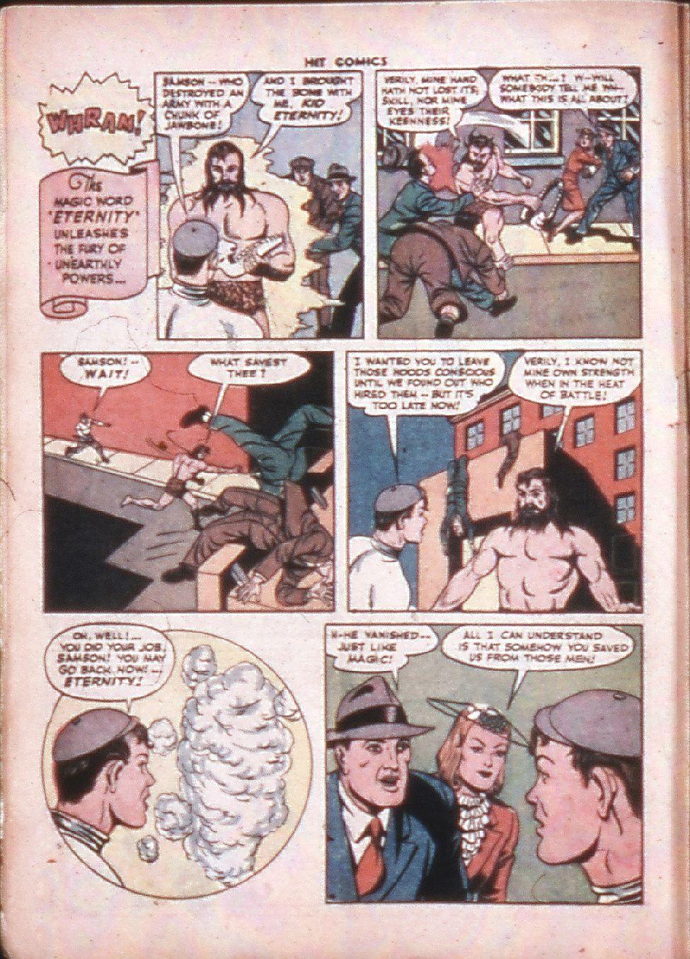 Read online Hit Comics comic -  Issue #33 - 6