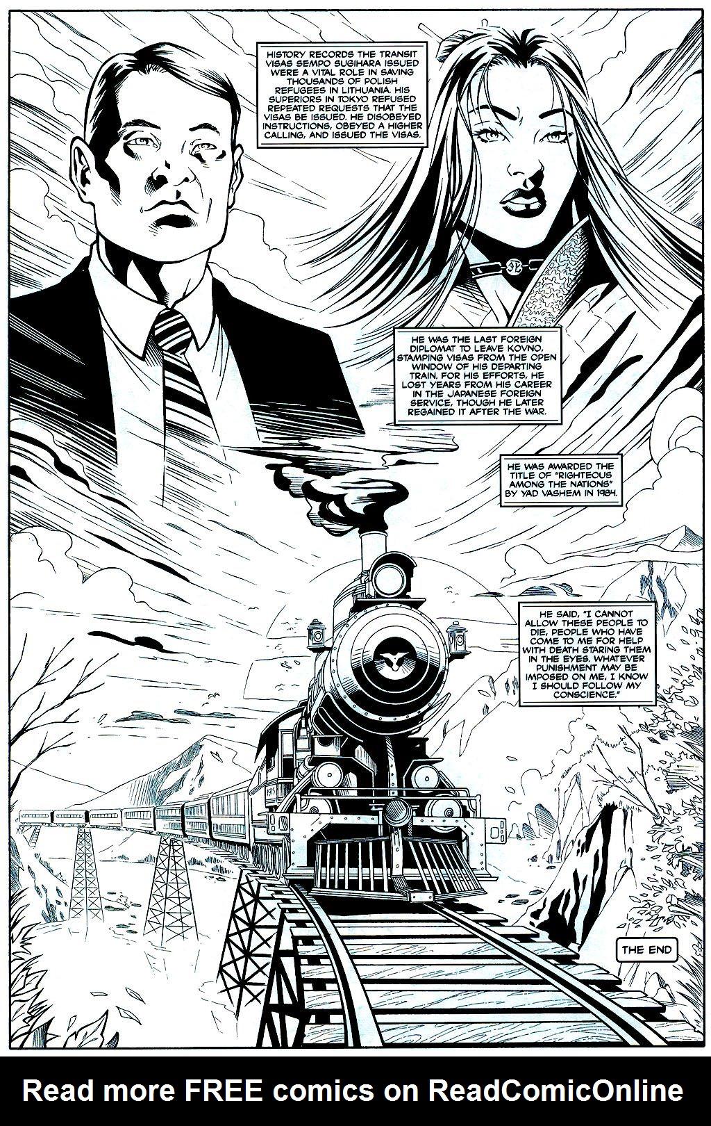Read online Shi: Sempo comic -  Issue #2 - 22