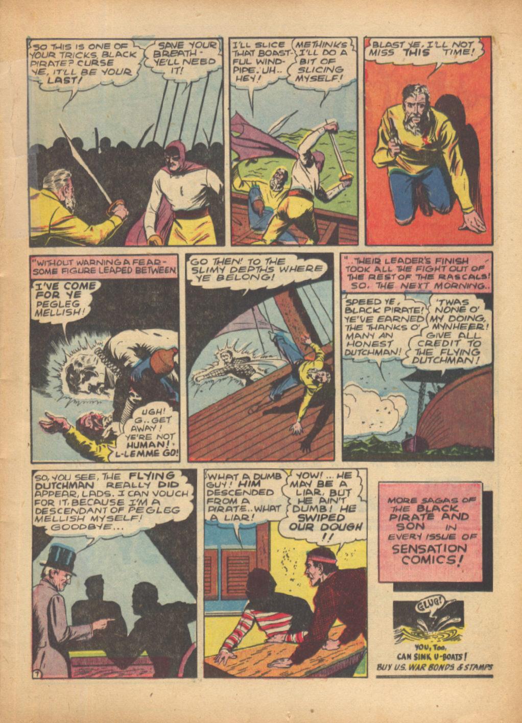 Read online Sensation (Mystery) Comics comic -  Issue #24 - 23