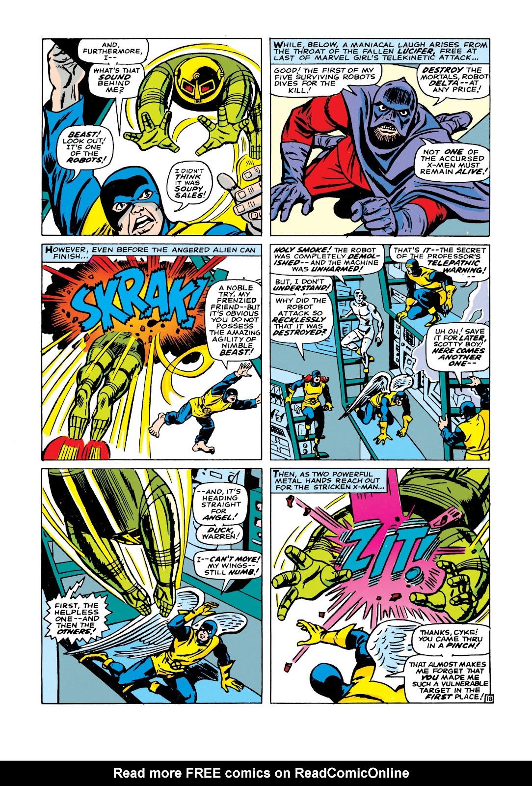 Uncanny X-Men (1963) issue 21 - Page 19