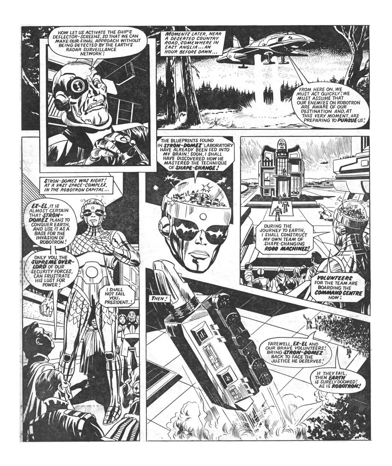 Read online Robo Machines comic -  Issue # TPB - 13