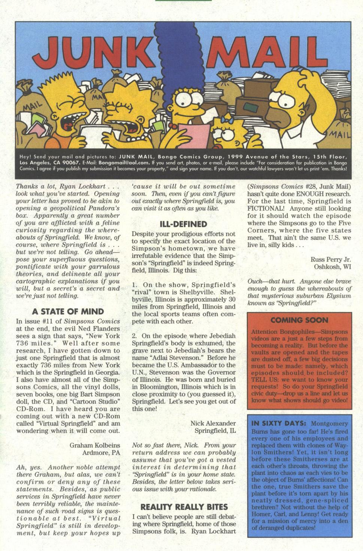 Read online Simpsons Comics comic -  Issue #29 - 24