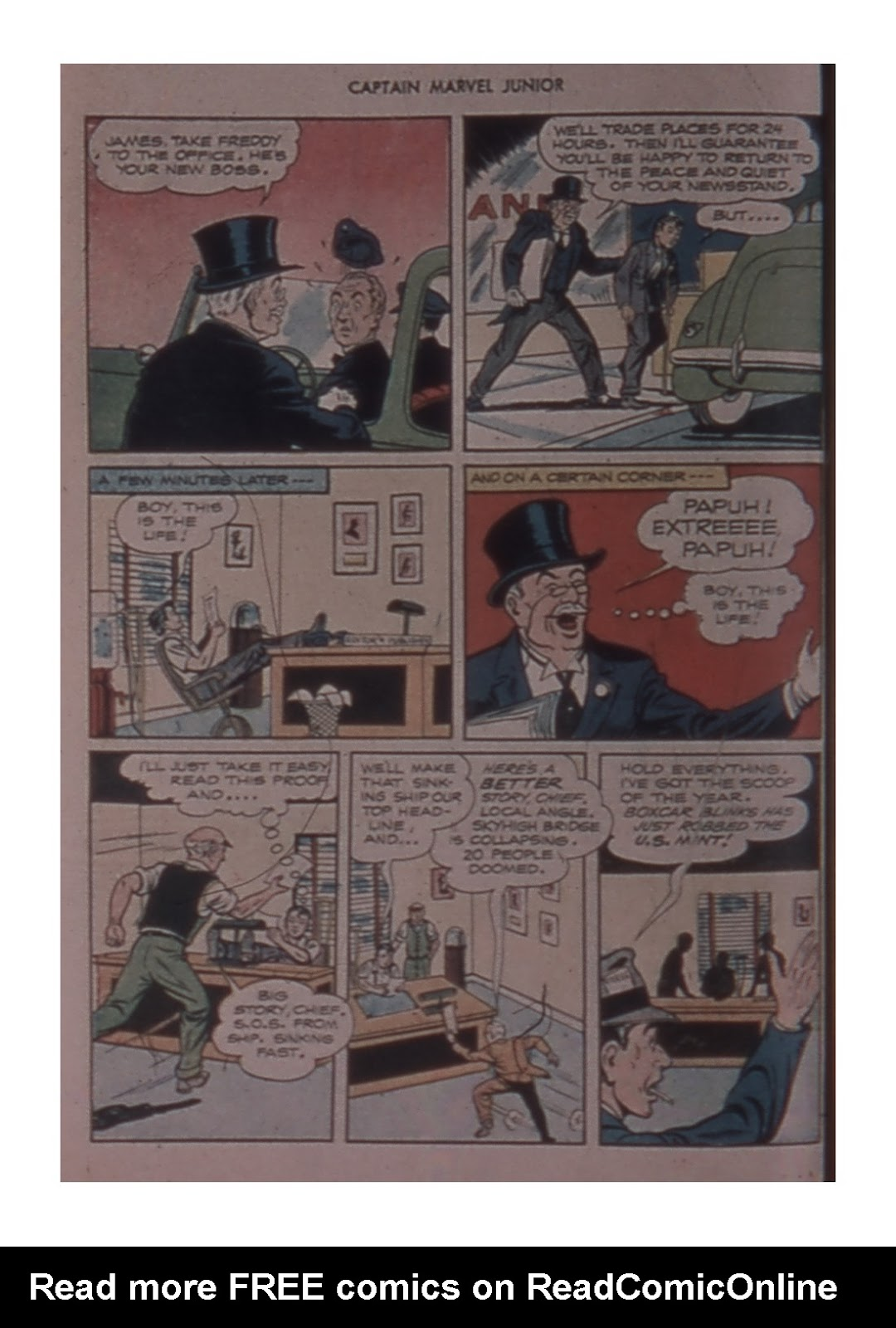 Captain Marvel, Jr. issue 59 - Page 6