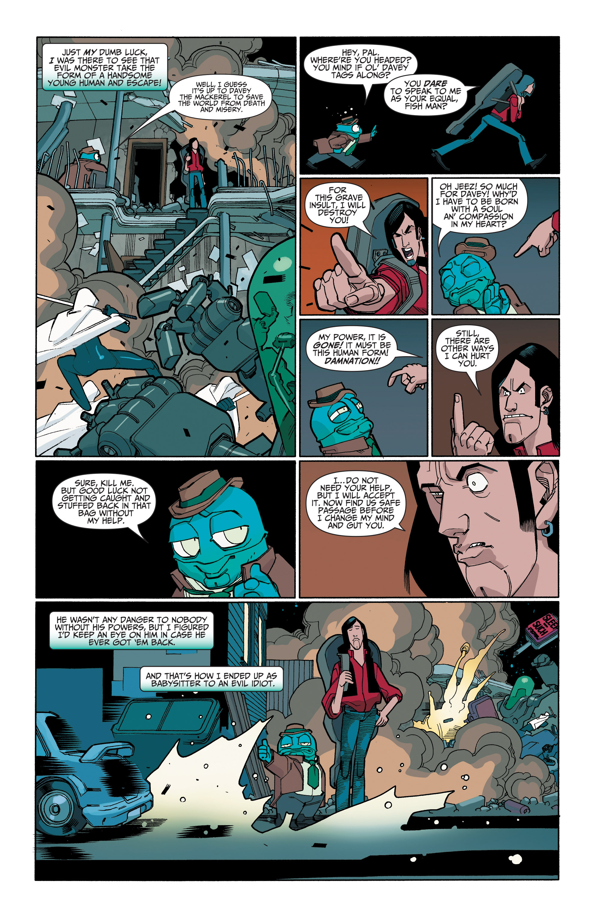 Read online A&A: The Adventures of Archer & Armstrong comic -  Issue #6 - 22
