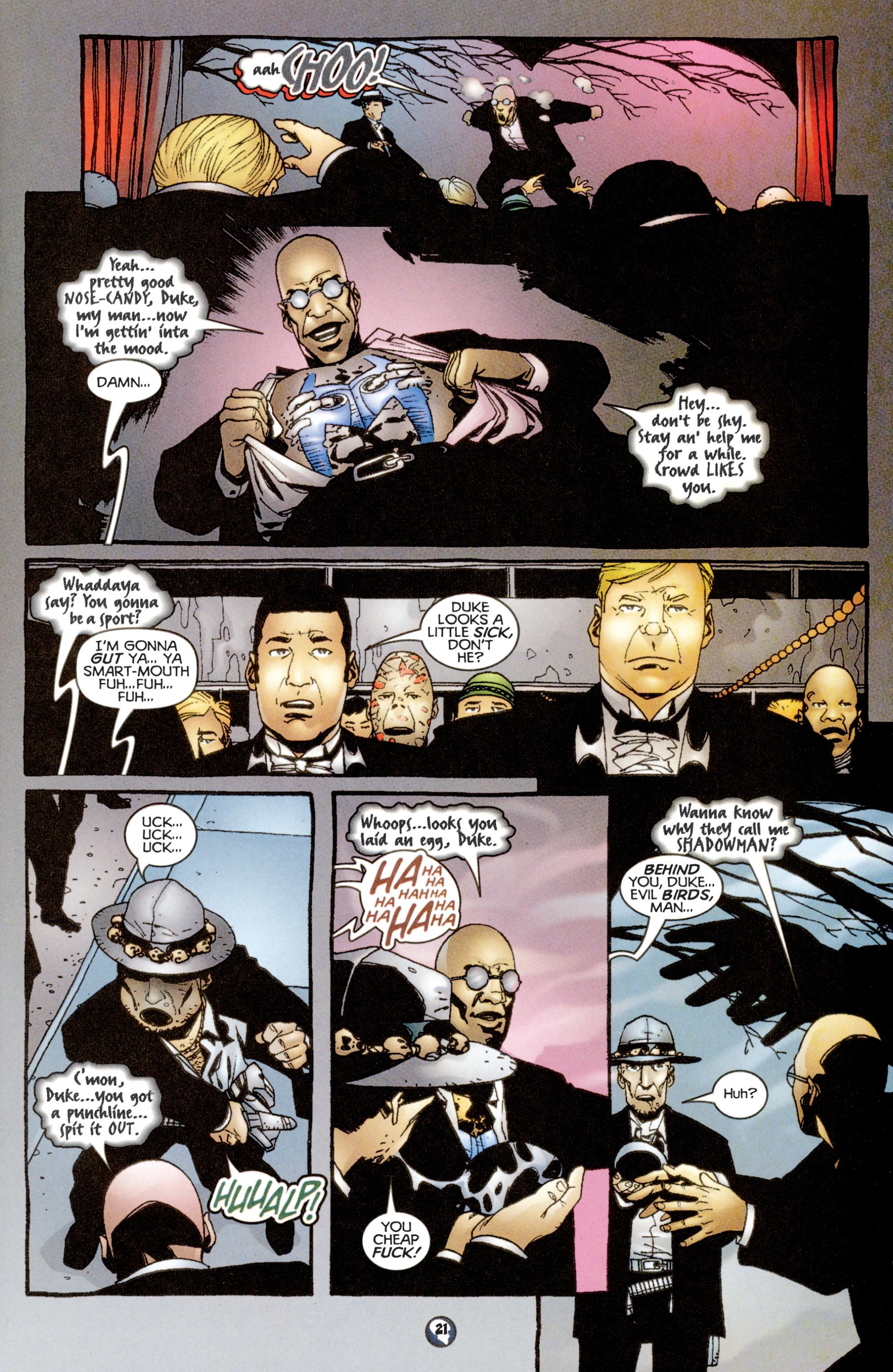 Read online Shadowman (1997) comic -  Issue #13 - 17