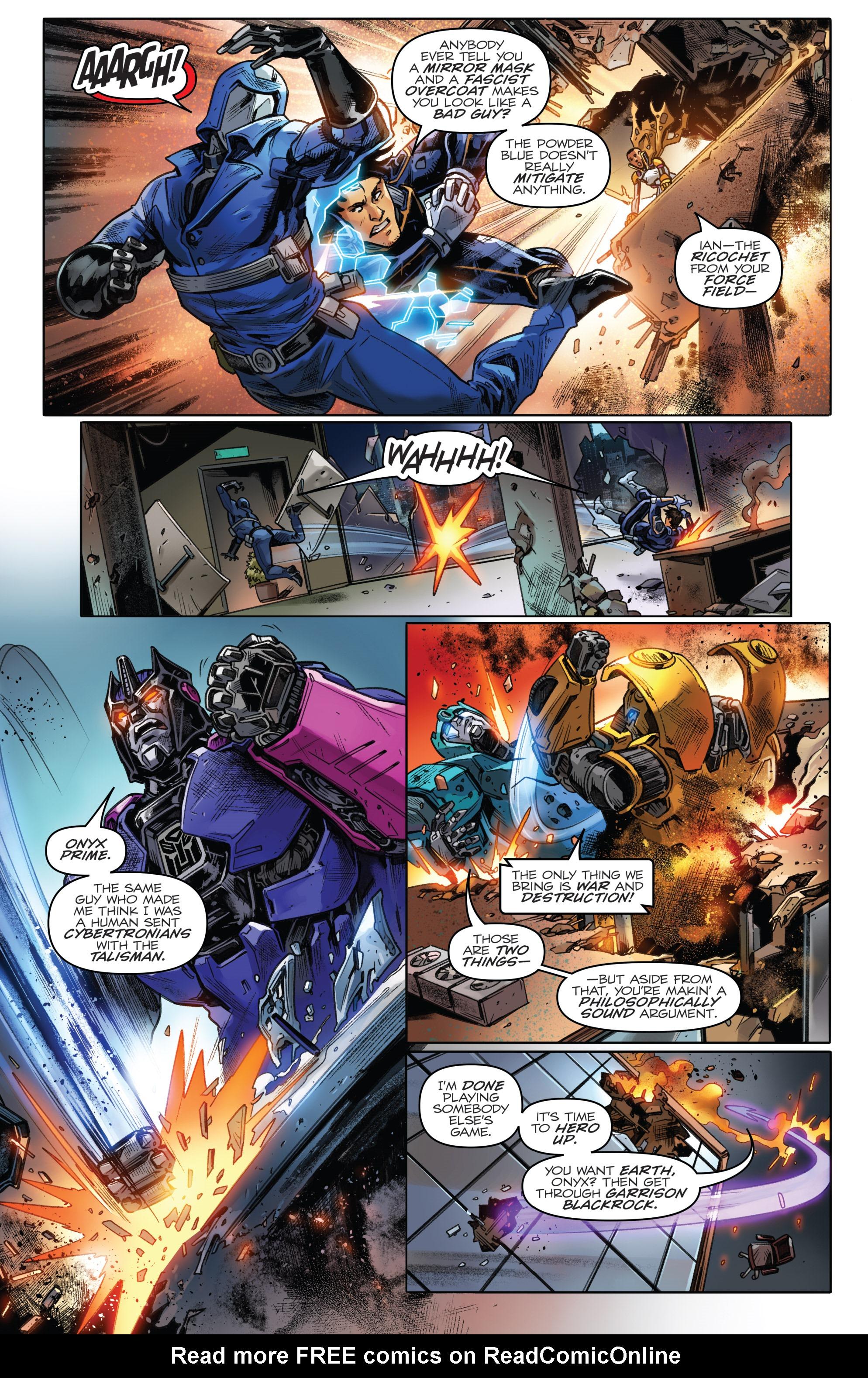 Read online Revolutionaries comic -  Issue #5 - 18