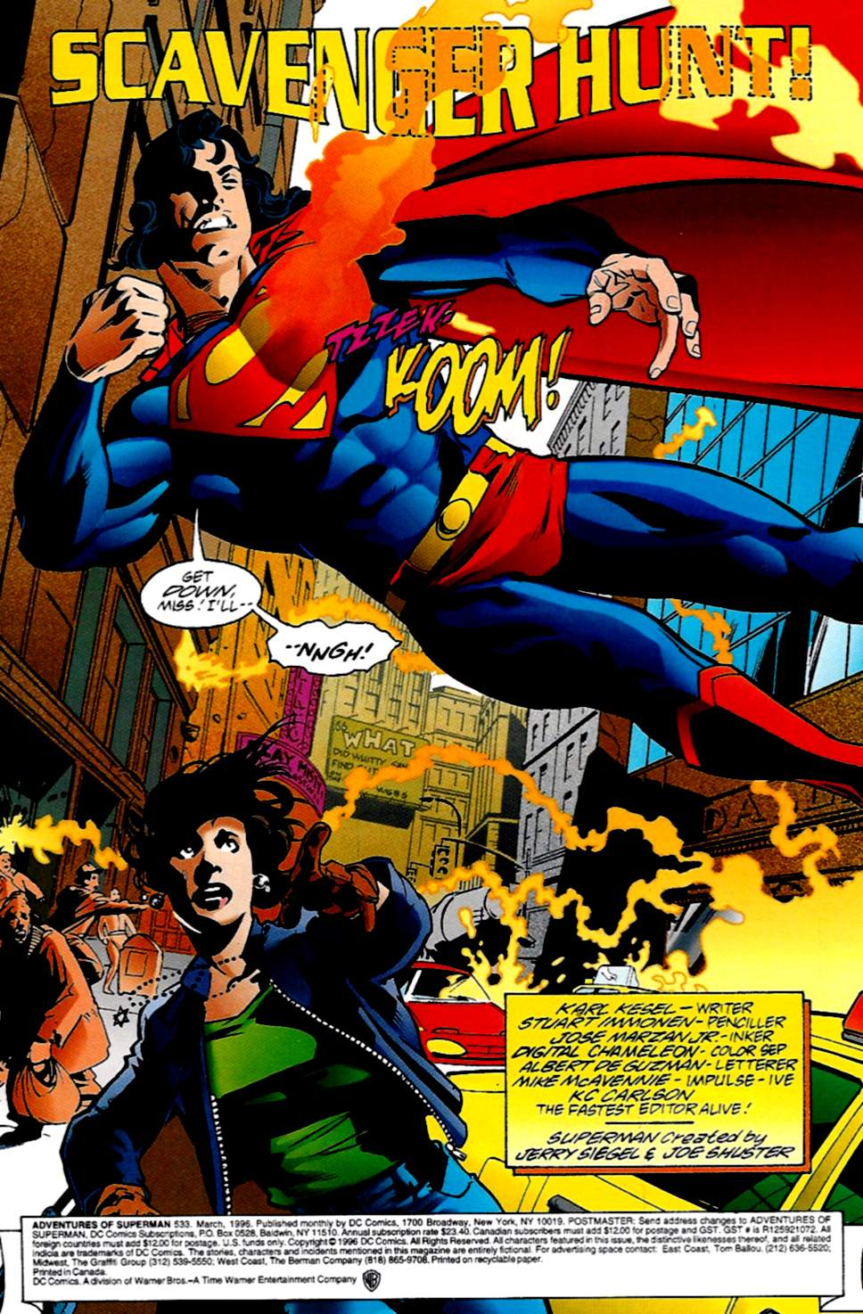 Read online Adventures of Superman (1987) comic -  Issue #533 - 2