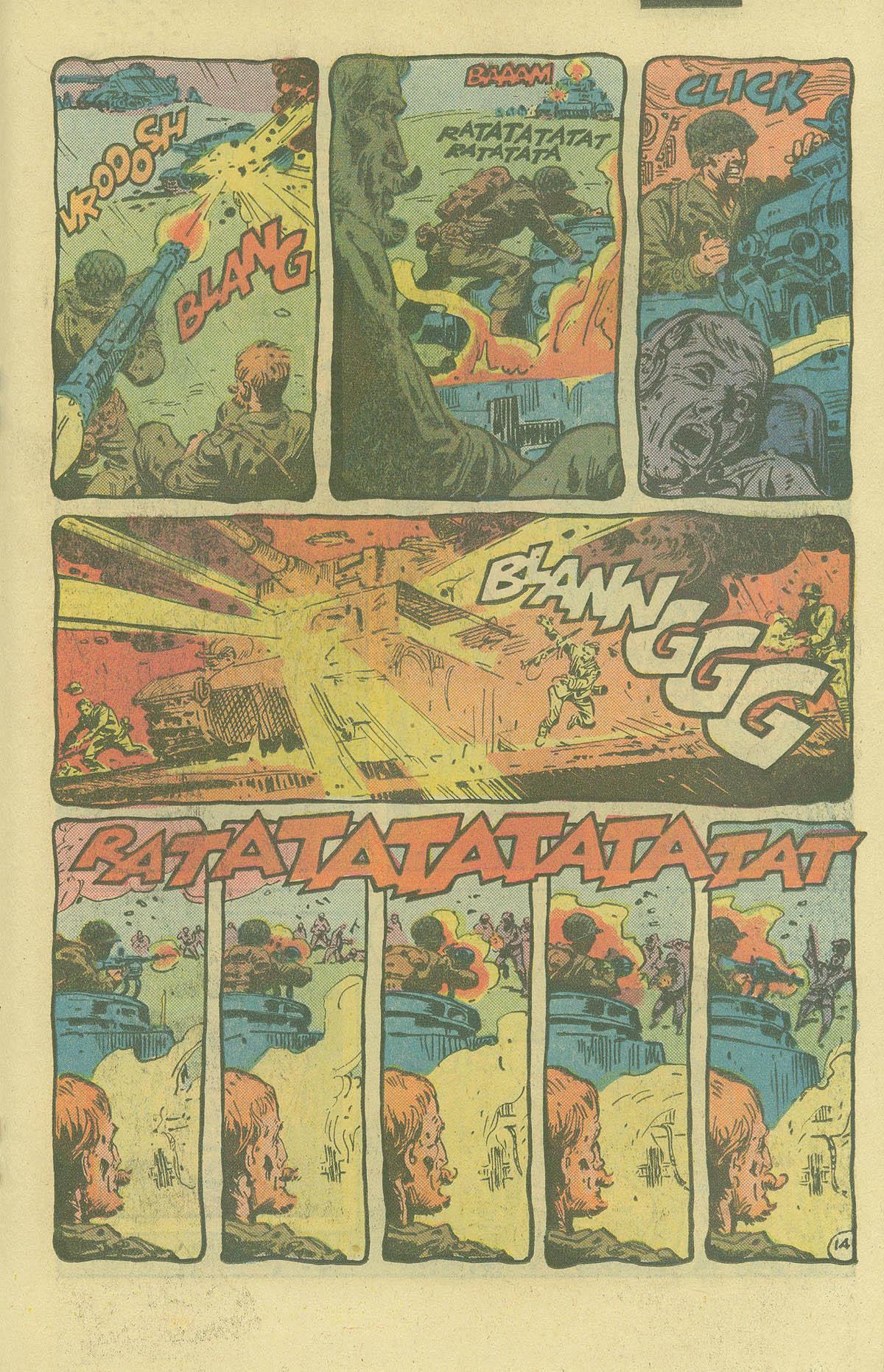 Read online Sgt. Rock comic -  Issue #402 - 18