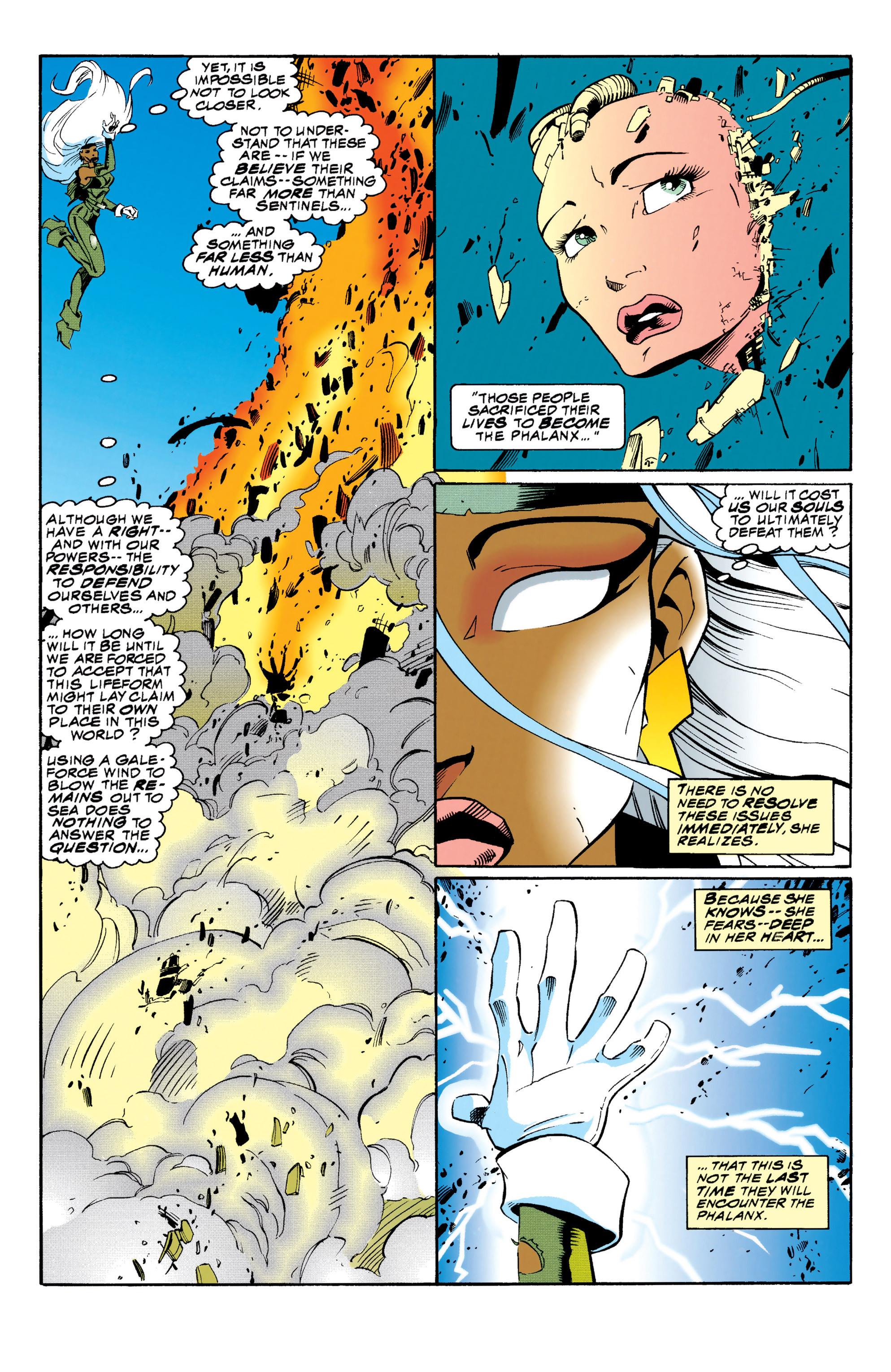 Read online Uncanny X-Men (1963) comic -  Issue #313 - 19