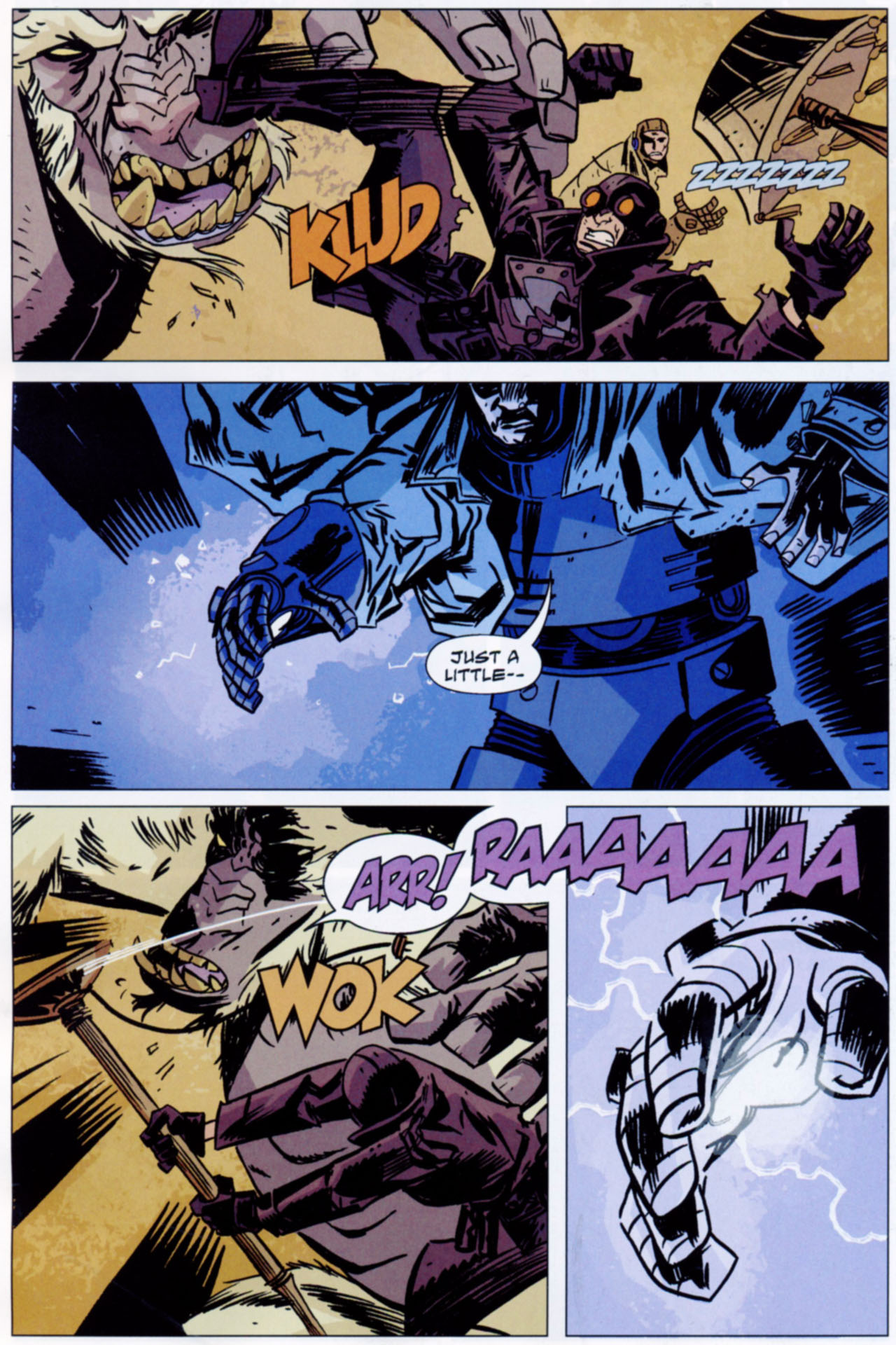 Read online Lobster Johnson: The Iron Prometheus comic -  Issue #1 - 9