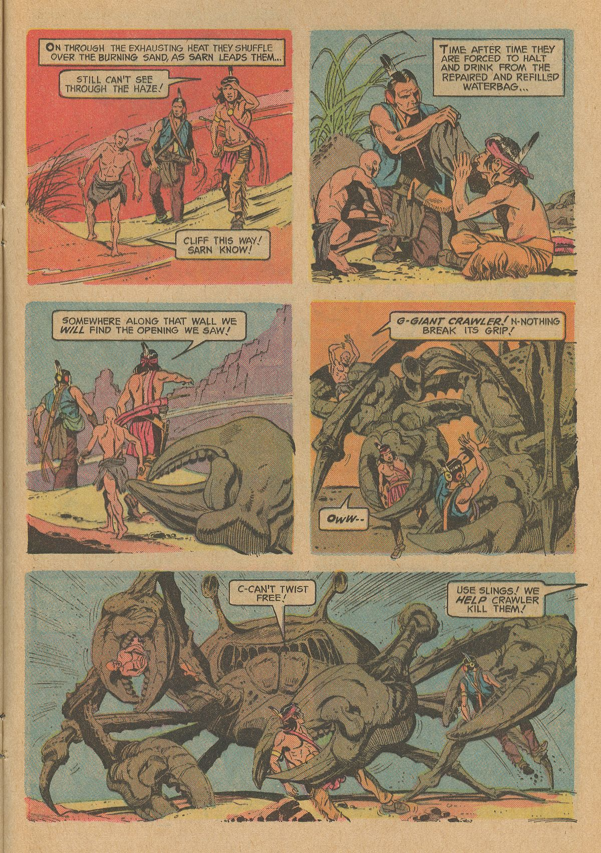 Read online Turok, Son of Stone comic -  Issue #83 - 25