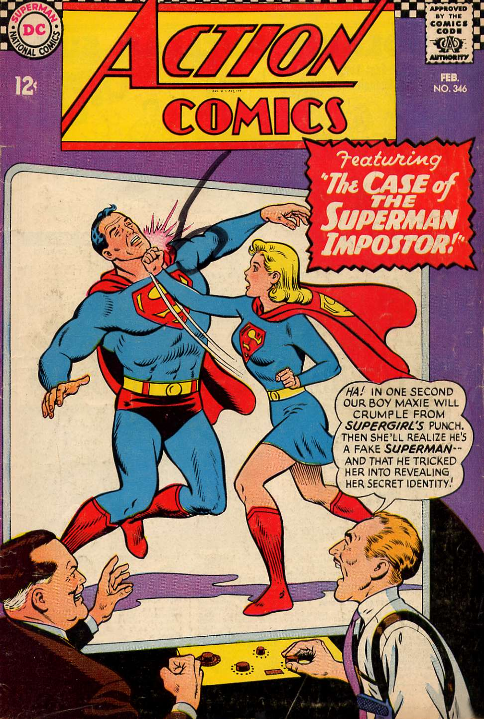 Read online Action Comics (1938) comic -  Issue #346 - 1