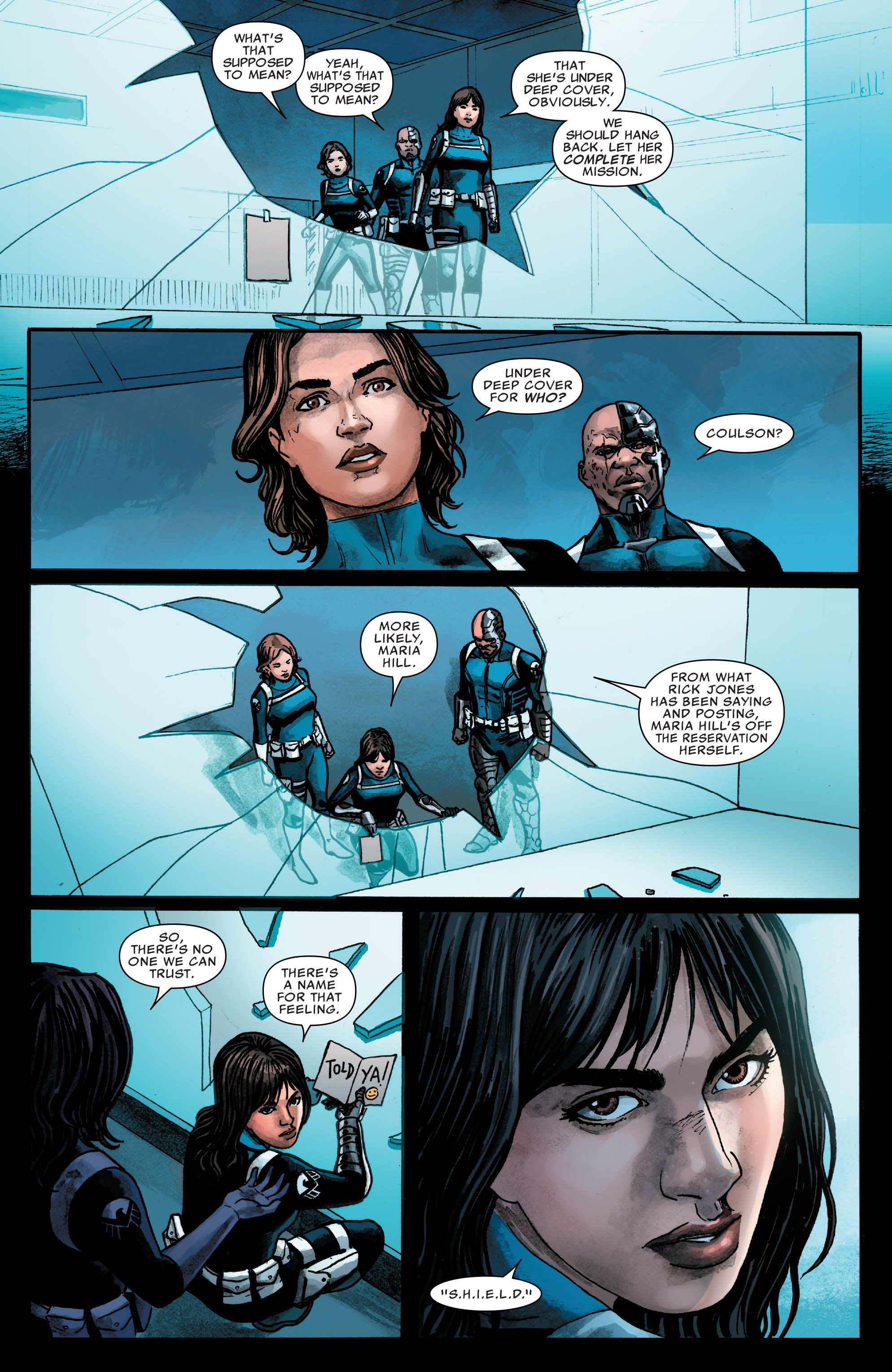 Read online Agents of S.H.I.E.L.D. comic -  Issue #4 - 19