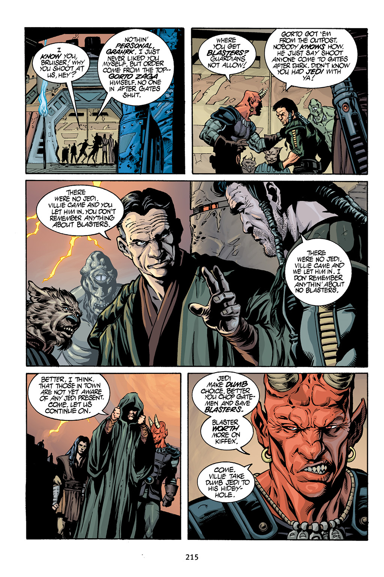 Read online Star Wars Omnibus comic -  Issue # Vol. 15 - 212