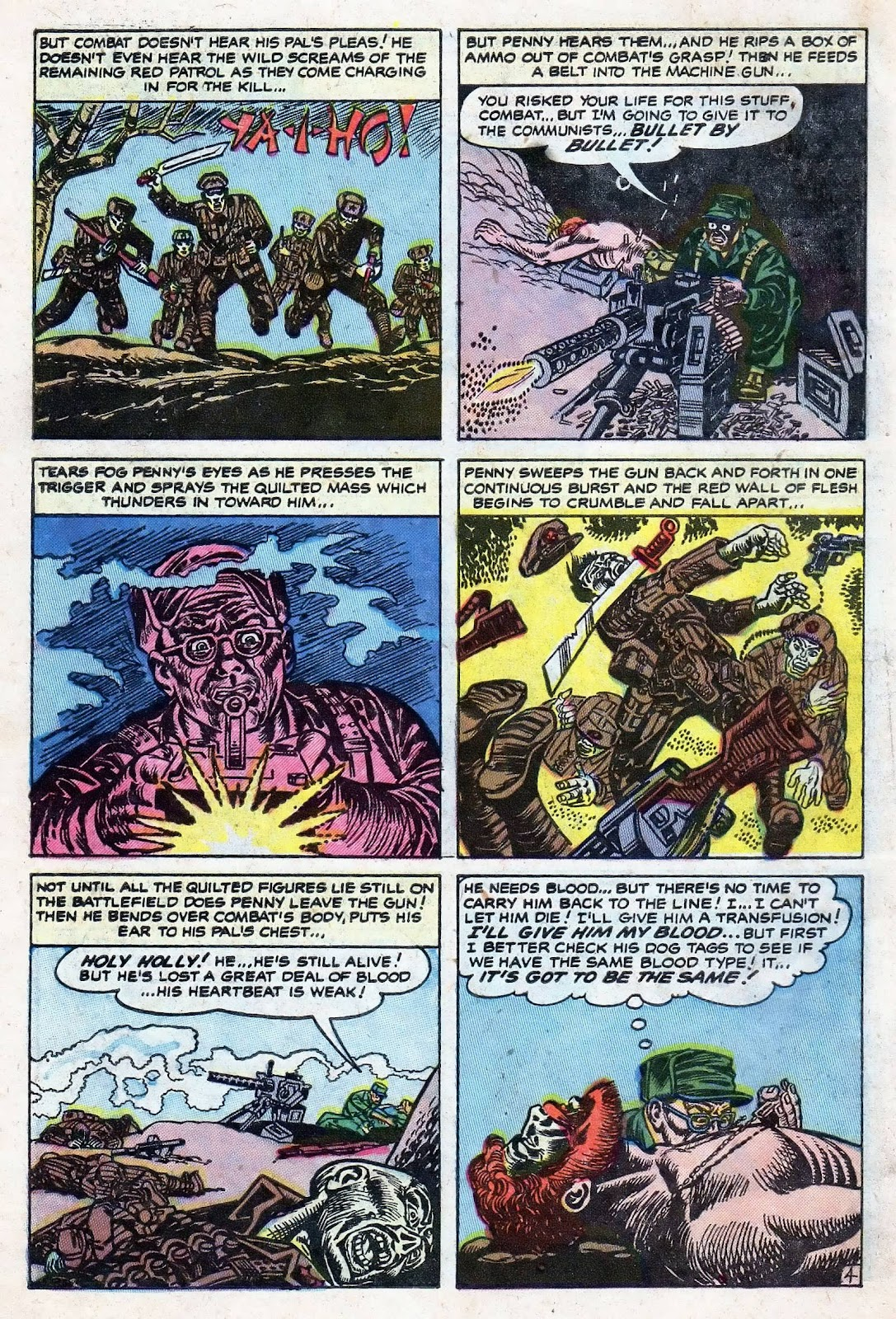 Combat (1952) issue 8 - Page 6