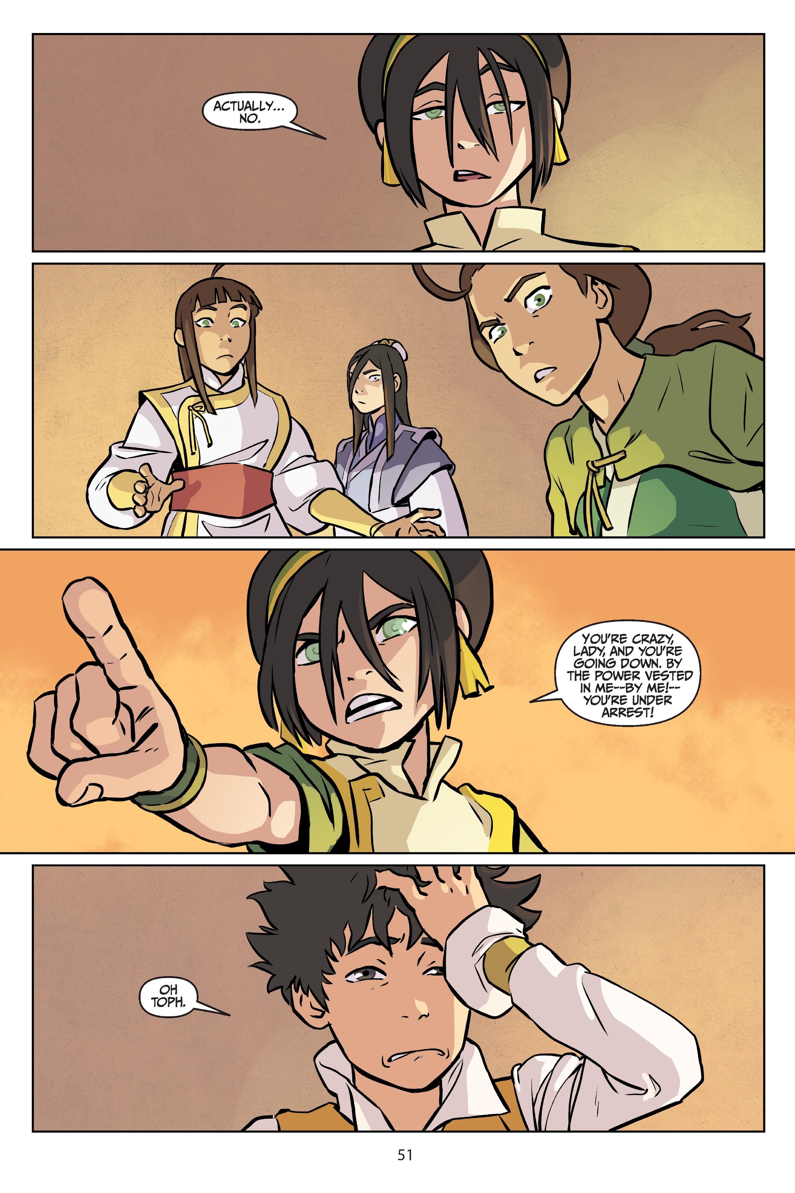 Nickelodeon Avatar: The Last Airbender - Imbalance TPB_2 Page 51