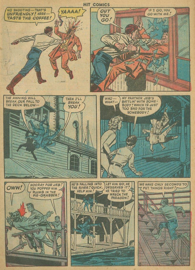 Read online Hit Comics comic -  Issue #61 - 10