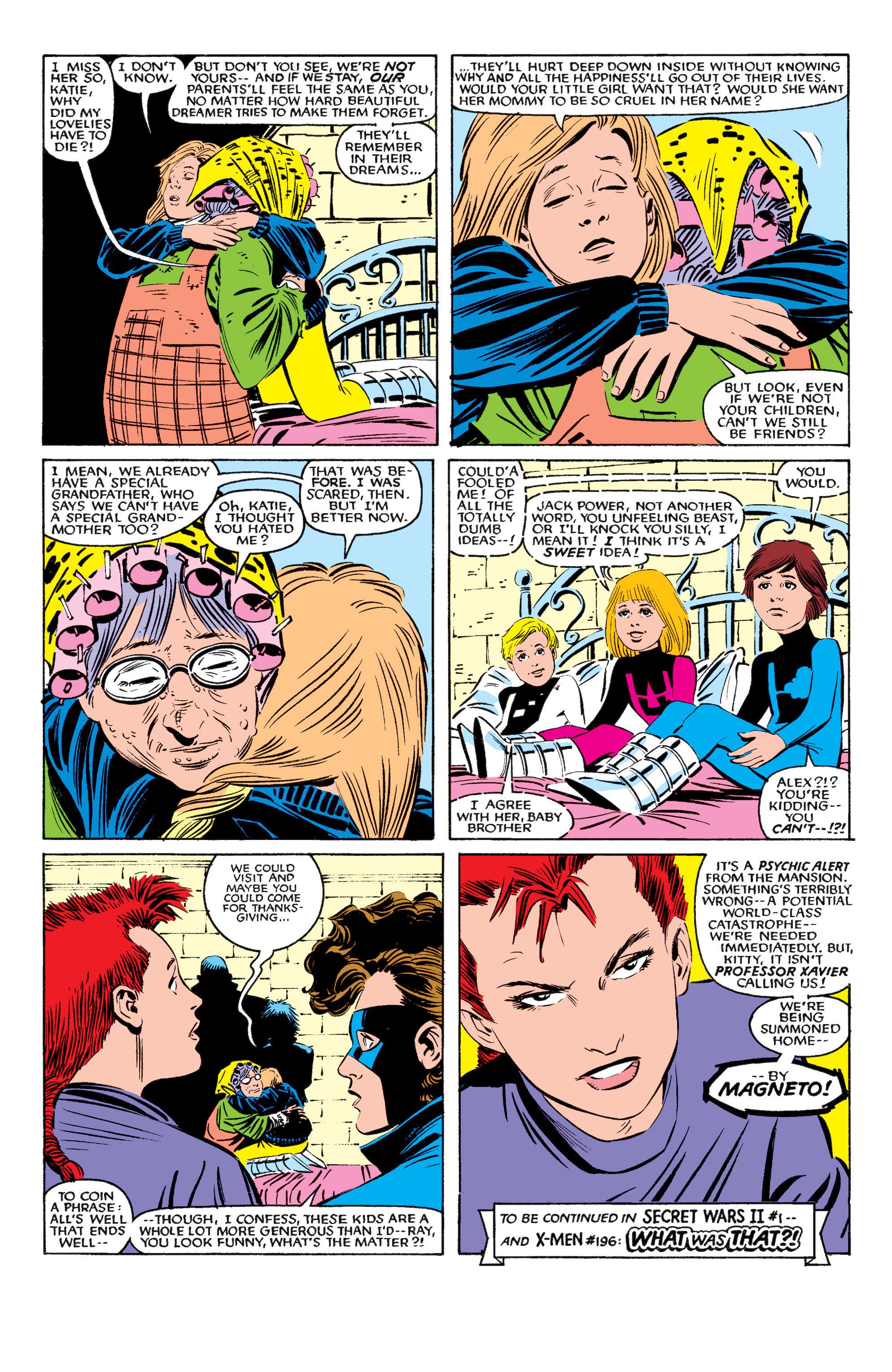 Read online Uncanny X-Men (1963) comic -  Issue #195 - 23