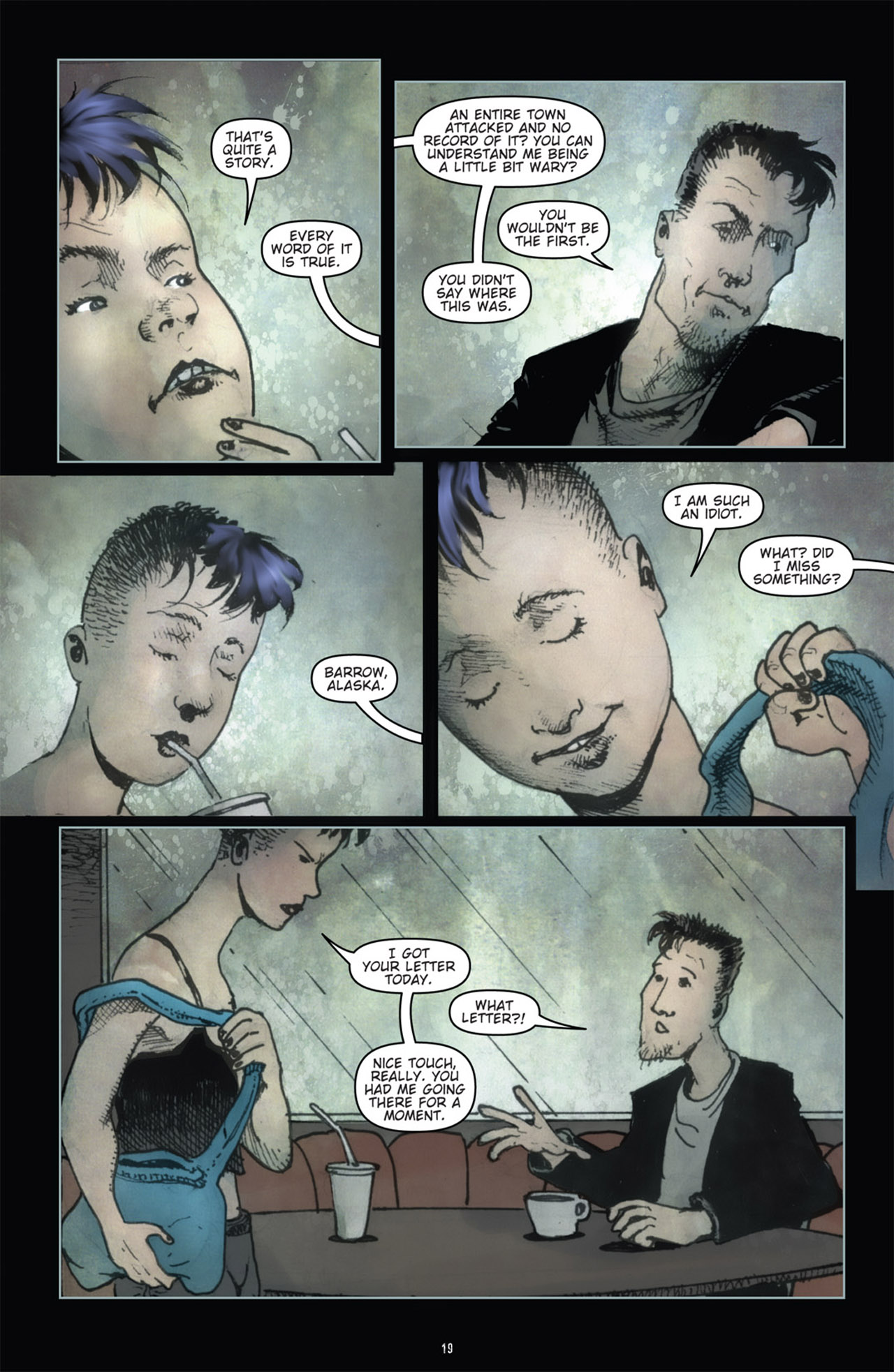 Read online 30 Days of Night (2011) comic -  Issue #1 - 23