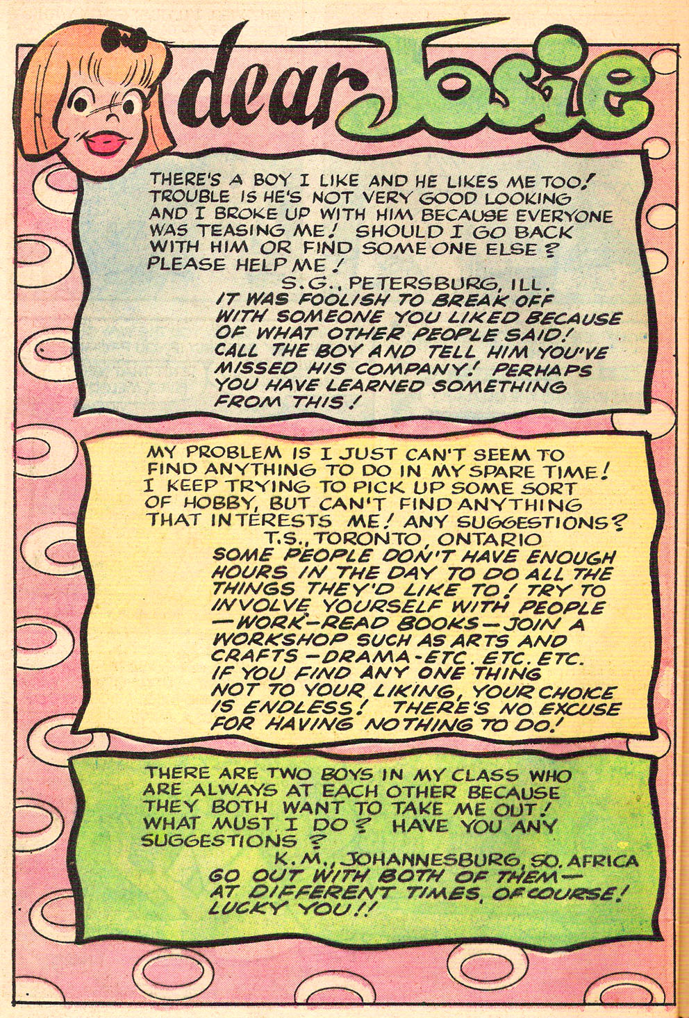 Read online She's Josie comic -  Issue #67 - 48