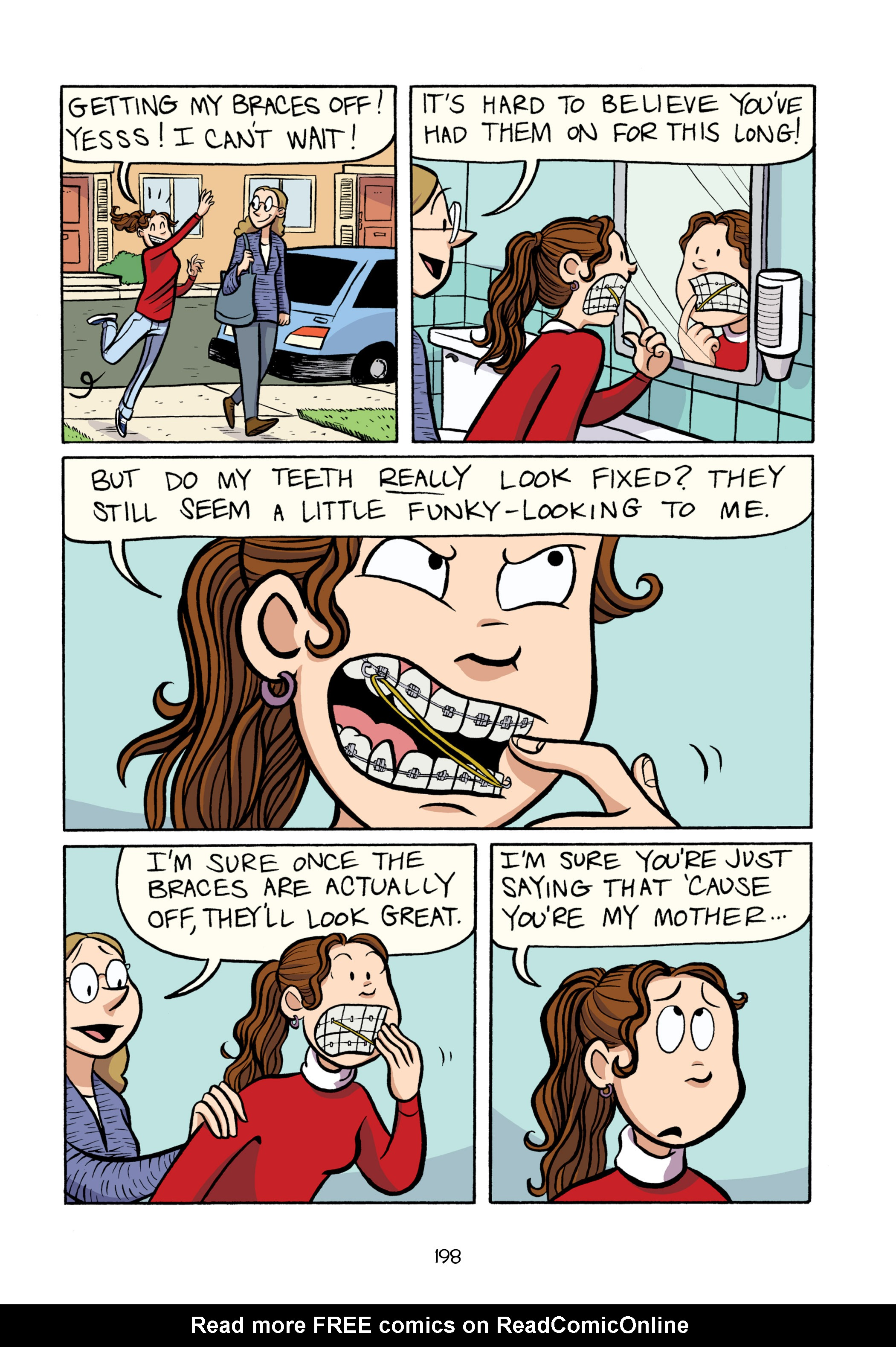 Read online Smile comic -  Issue # TPB - 204