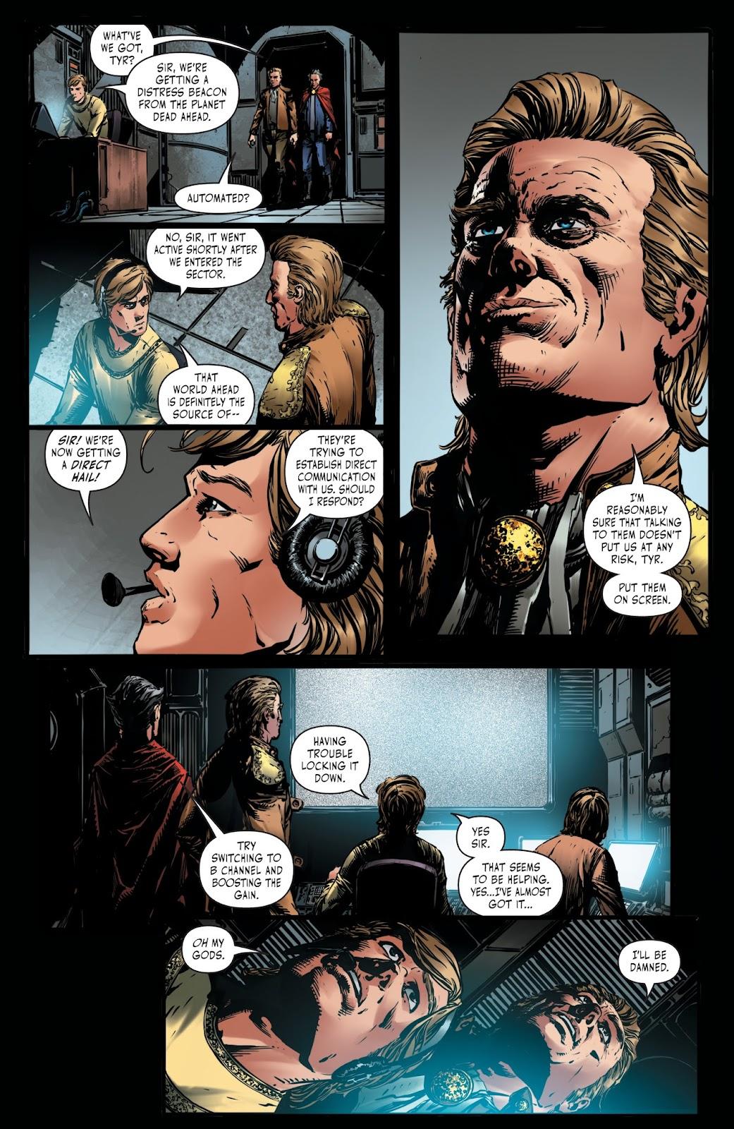 Battlestar Galactica BSG vs. BSG issue 1 - Page 8