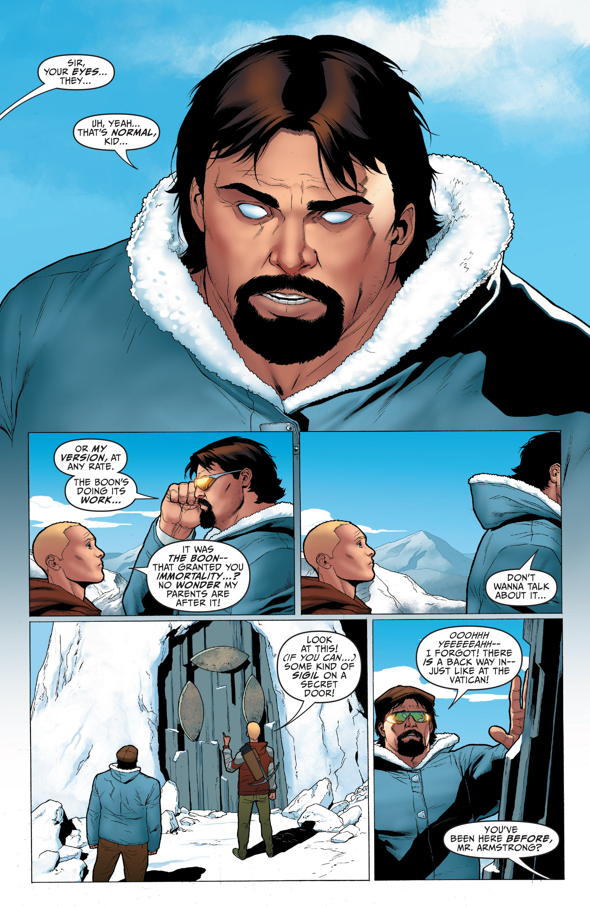 Read online Archer and Armstrong comic -  Issue #Archer and Armstrong _TPB 1 - 83