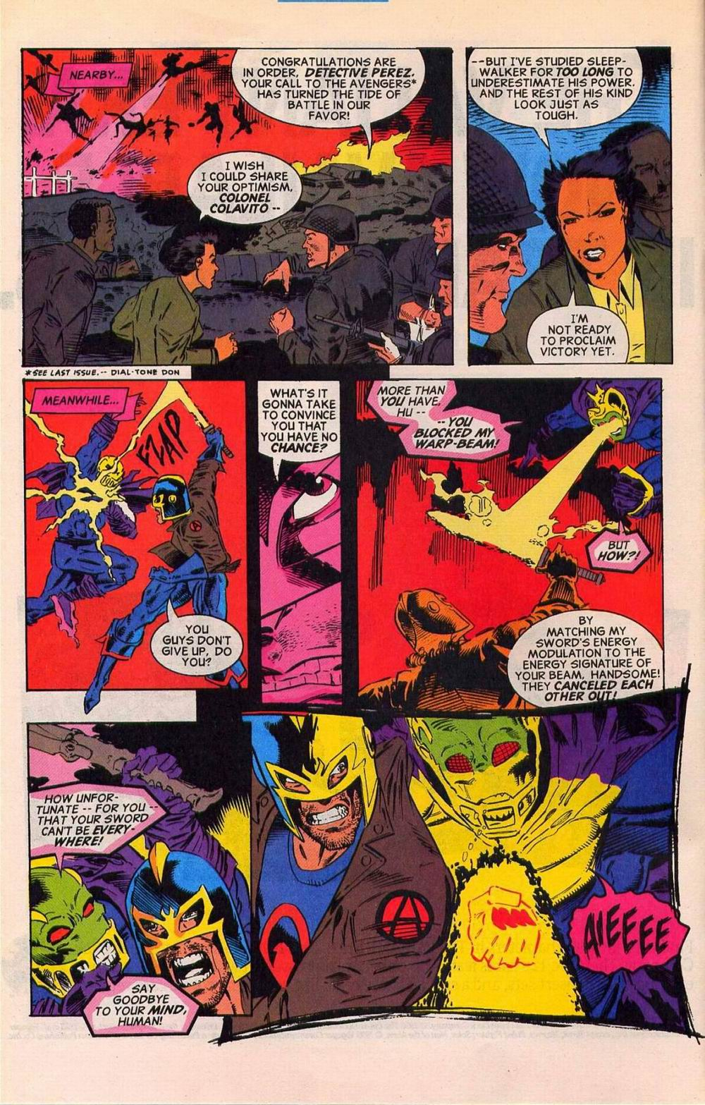 Read online Sleepwalker comic -  Issue #27 - 6
