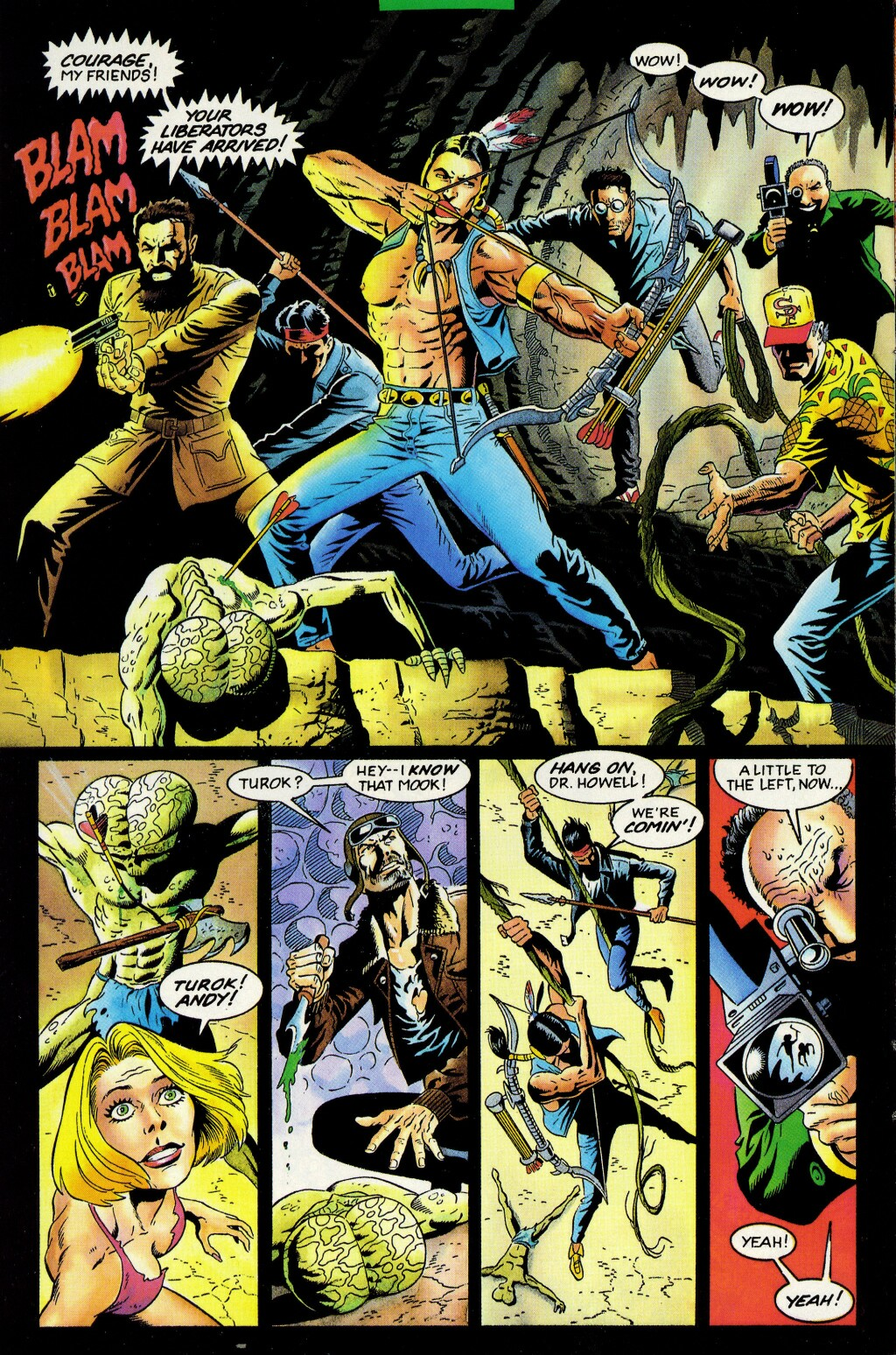 Read online Turok, Dinosaur Hunter (1993) comic -  Issue #33 - 11