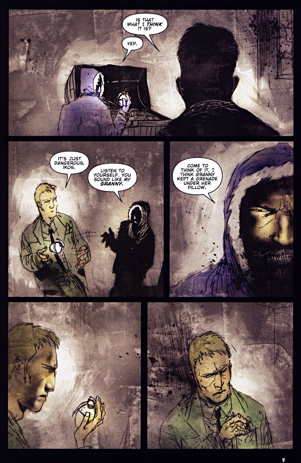 Read online 30 Days of Night: Return to Barrow comic -  Issue #5 - 10