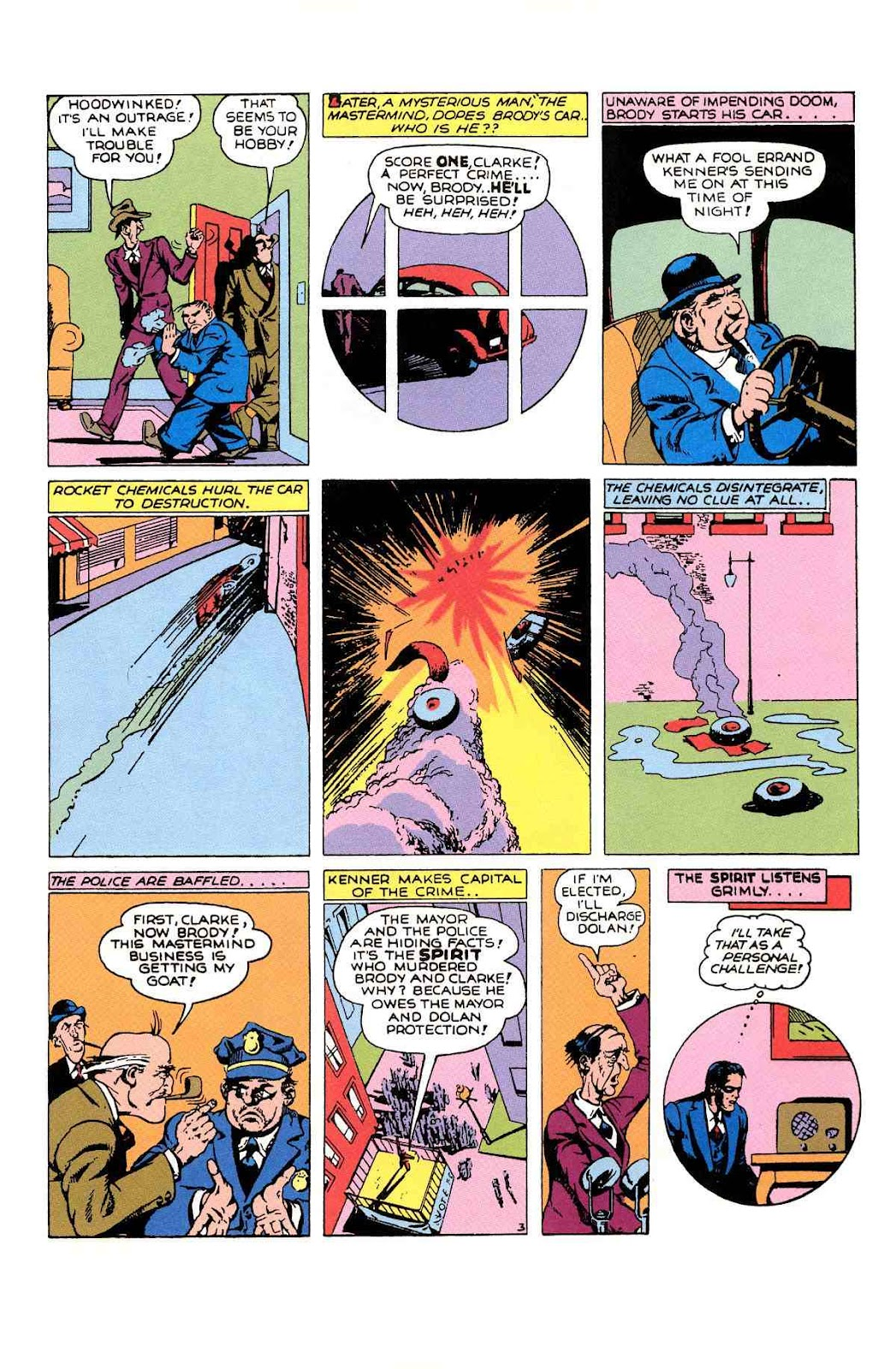 Read online Will Eisner's The Spirit Archives comic -  Issue # TPB 1 (Part 2) - 30