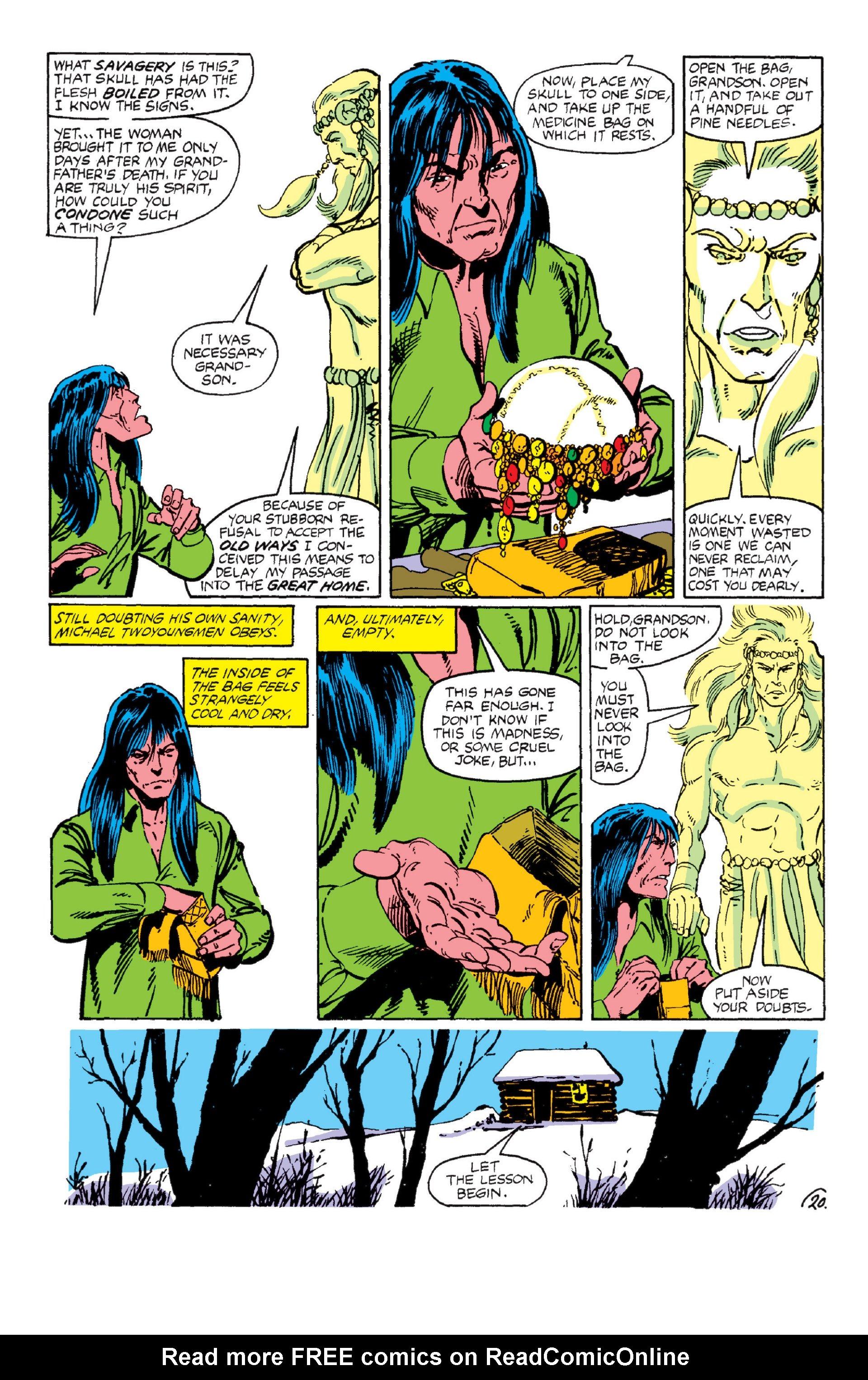 Read online Alpha Flight (1983) comic -  Issue #6 - 20