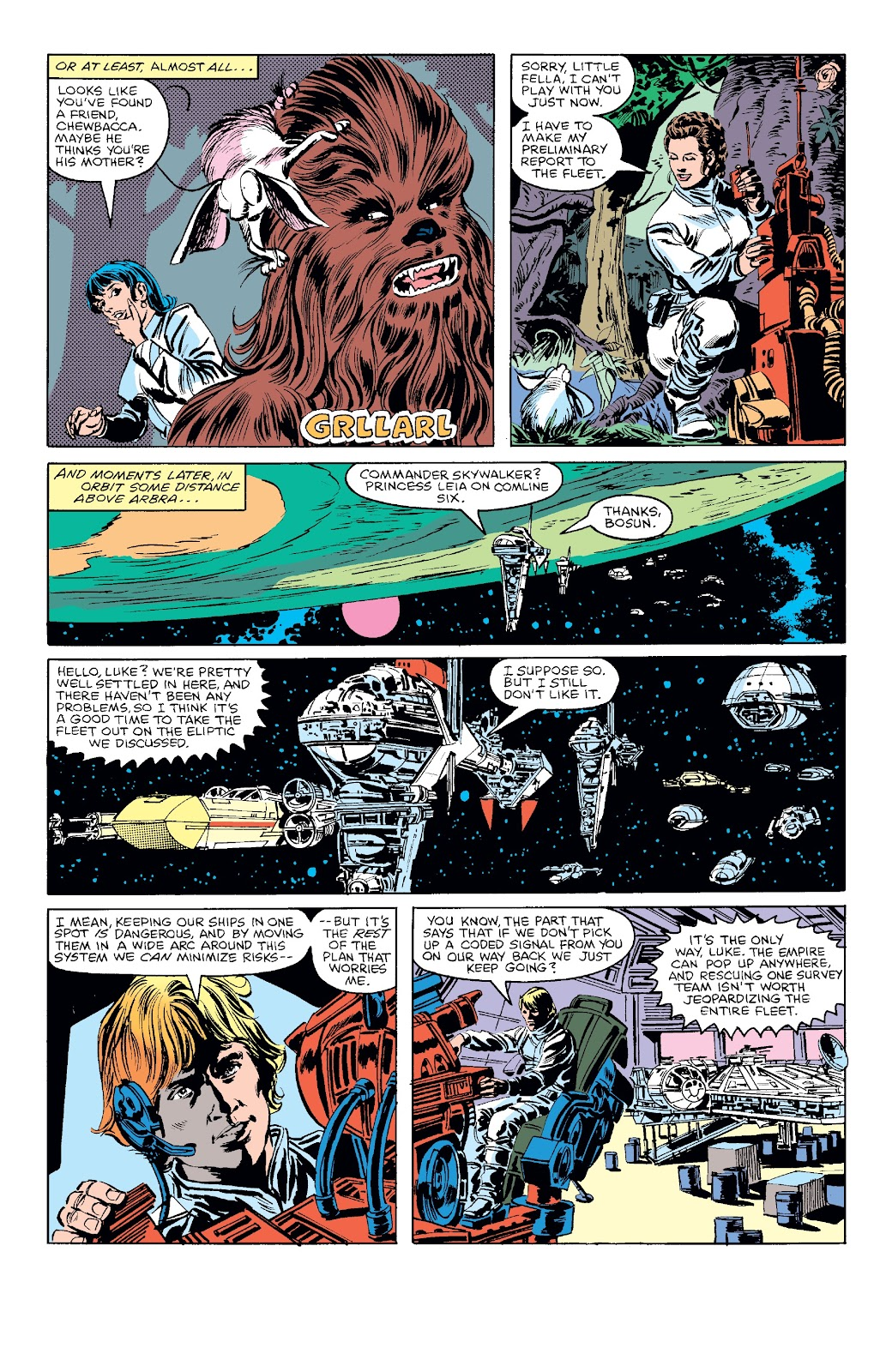 Read online Star Wars Legends: The Original Marvel Years - Epic Collection comic -  Issue # TPB 3 (Part 4) - 60