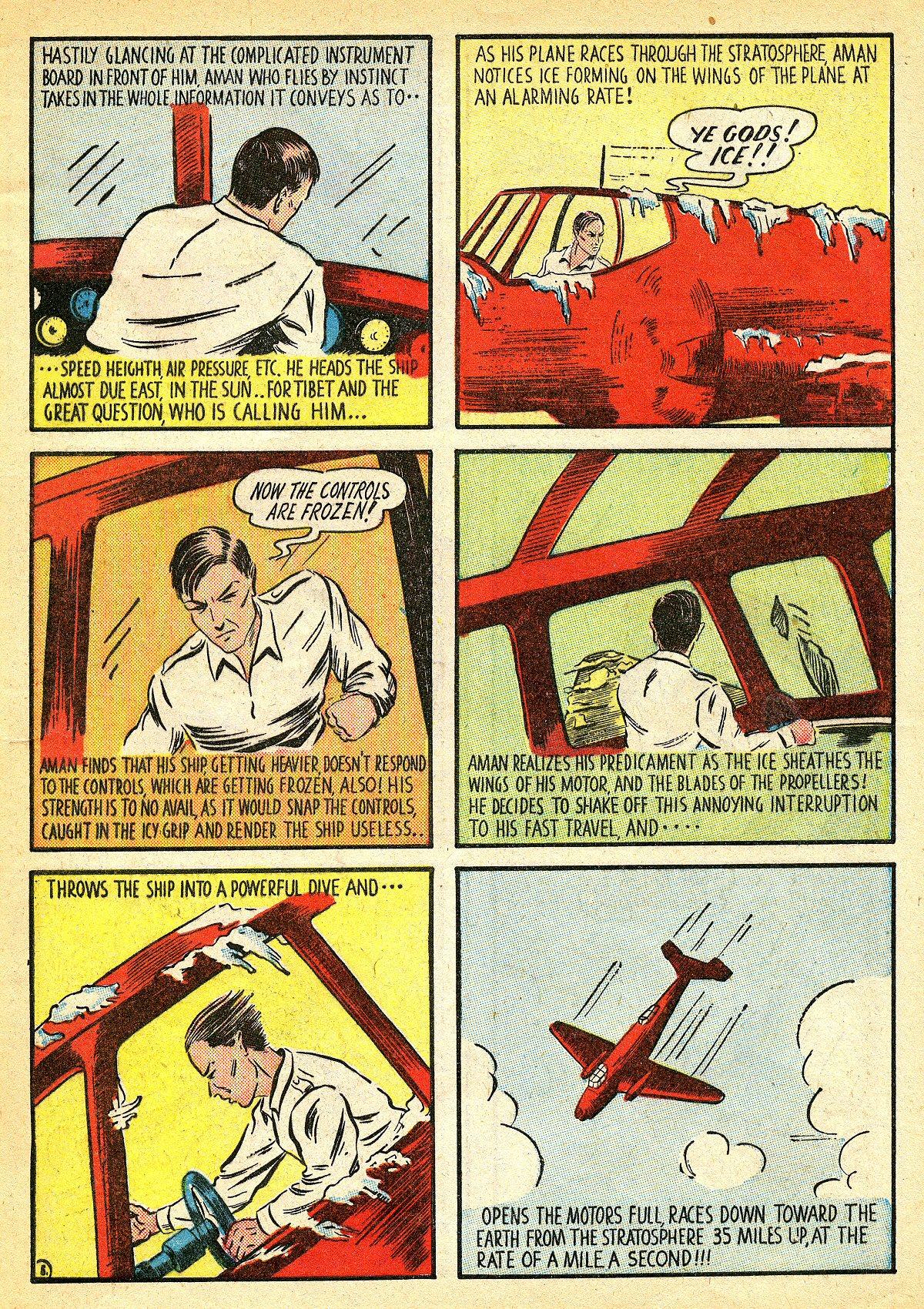 Read online Amazing Man Comics comic -  Issue #10 - 8