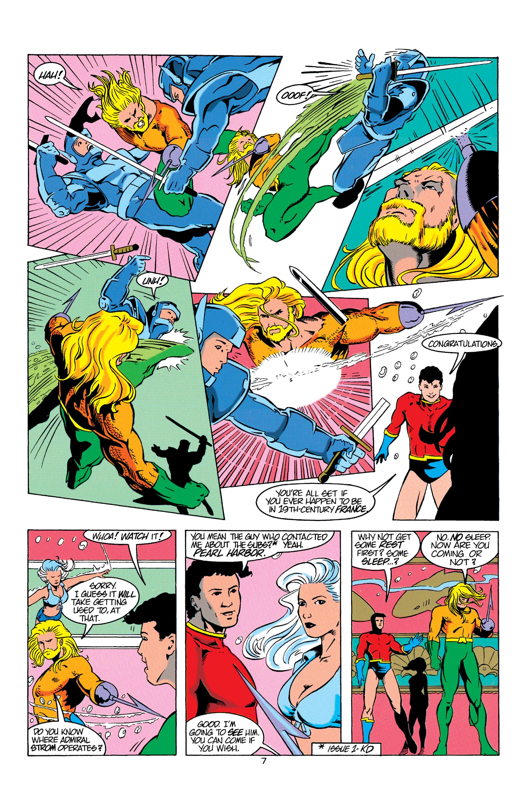 Read online Aquaman (1994) comic -  Issue #3 - 7