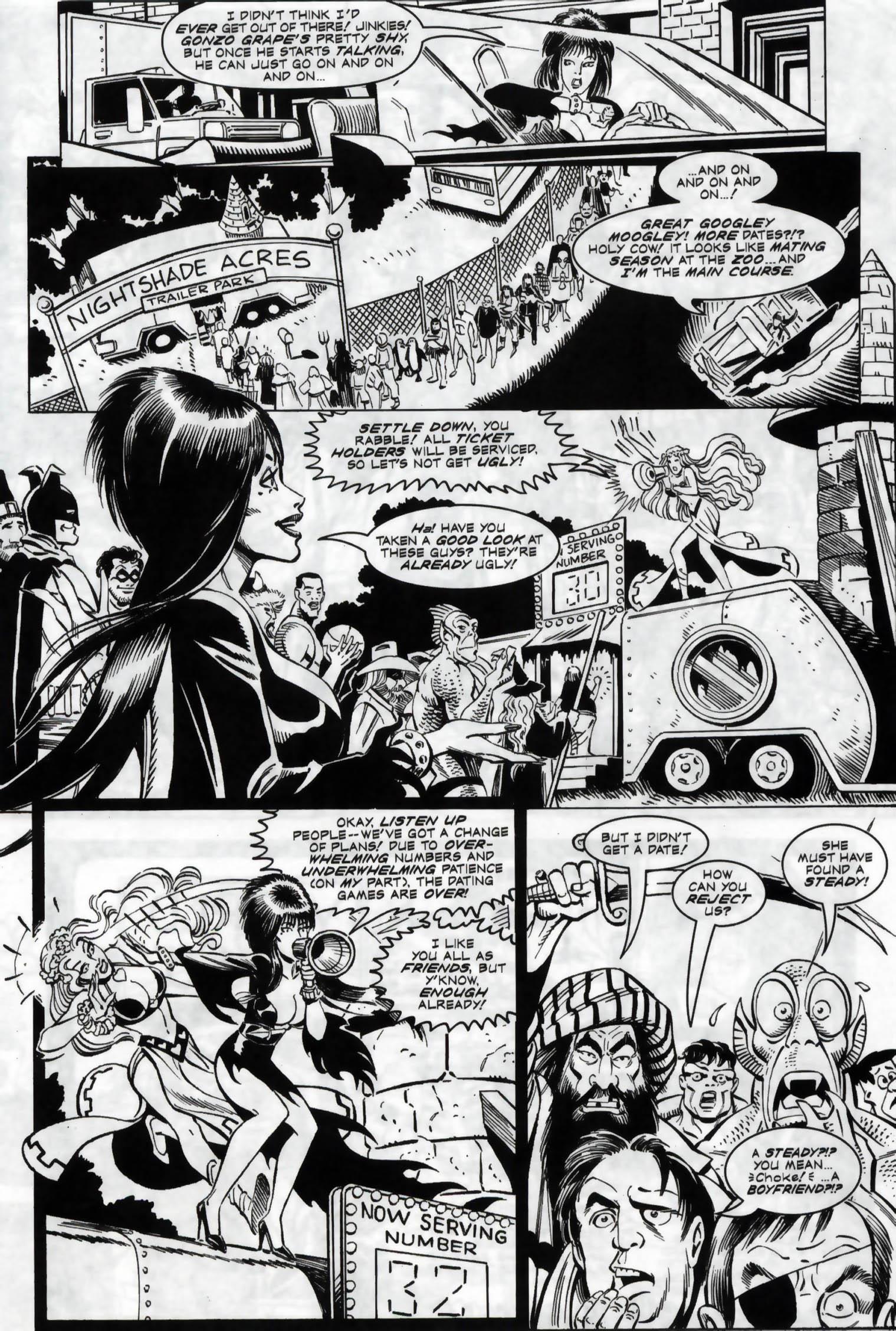 Read online Elvira, Mistress of the Dark comic -  Issue #118 - 17