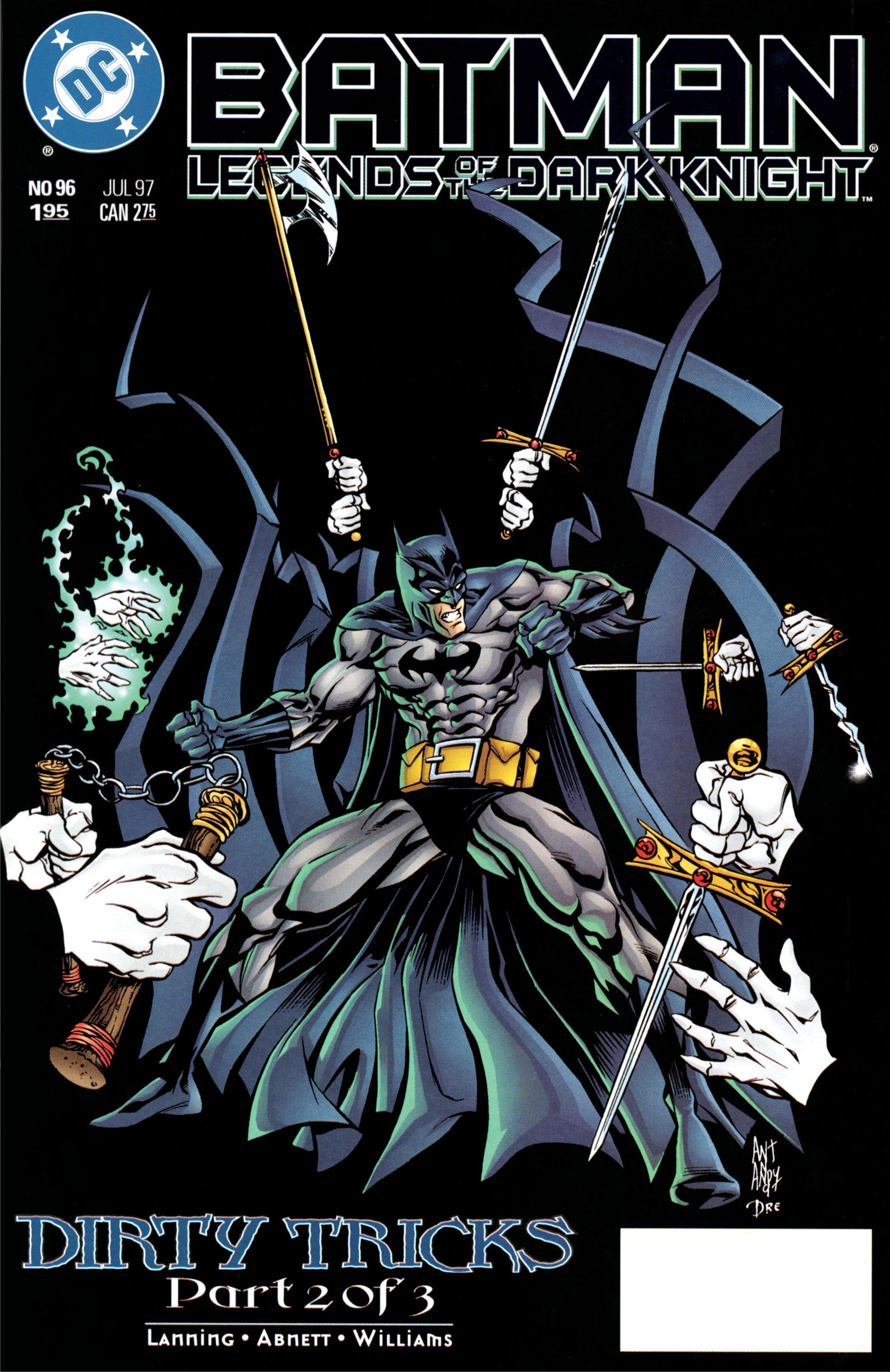 Batman: Legends of the Dark Knight 96 Page 1