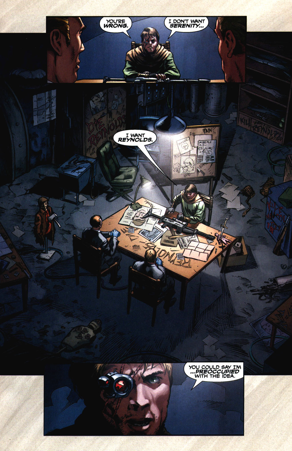 Read online Serenity comic -  Issue #2 - 12