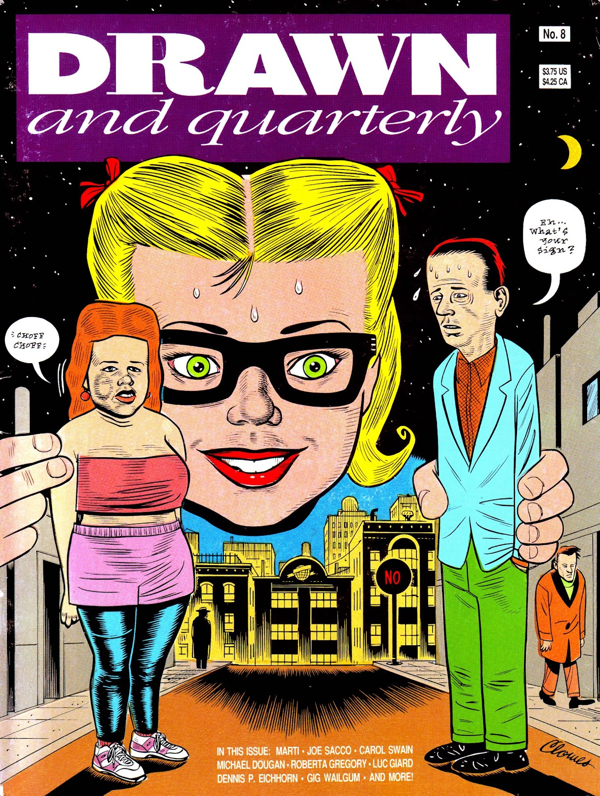 Drawn & Quarterly (1990) issue 8 - Page 1