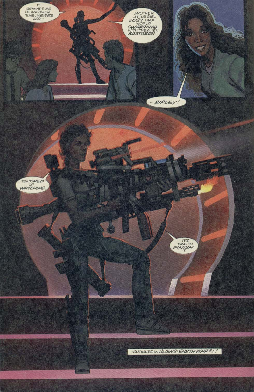 Read online Aliens (1989) comic -  Issue #4 - 26