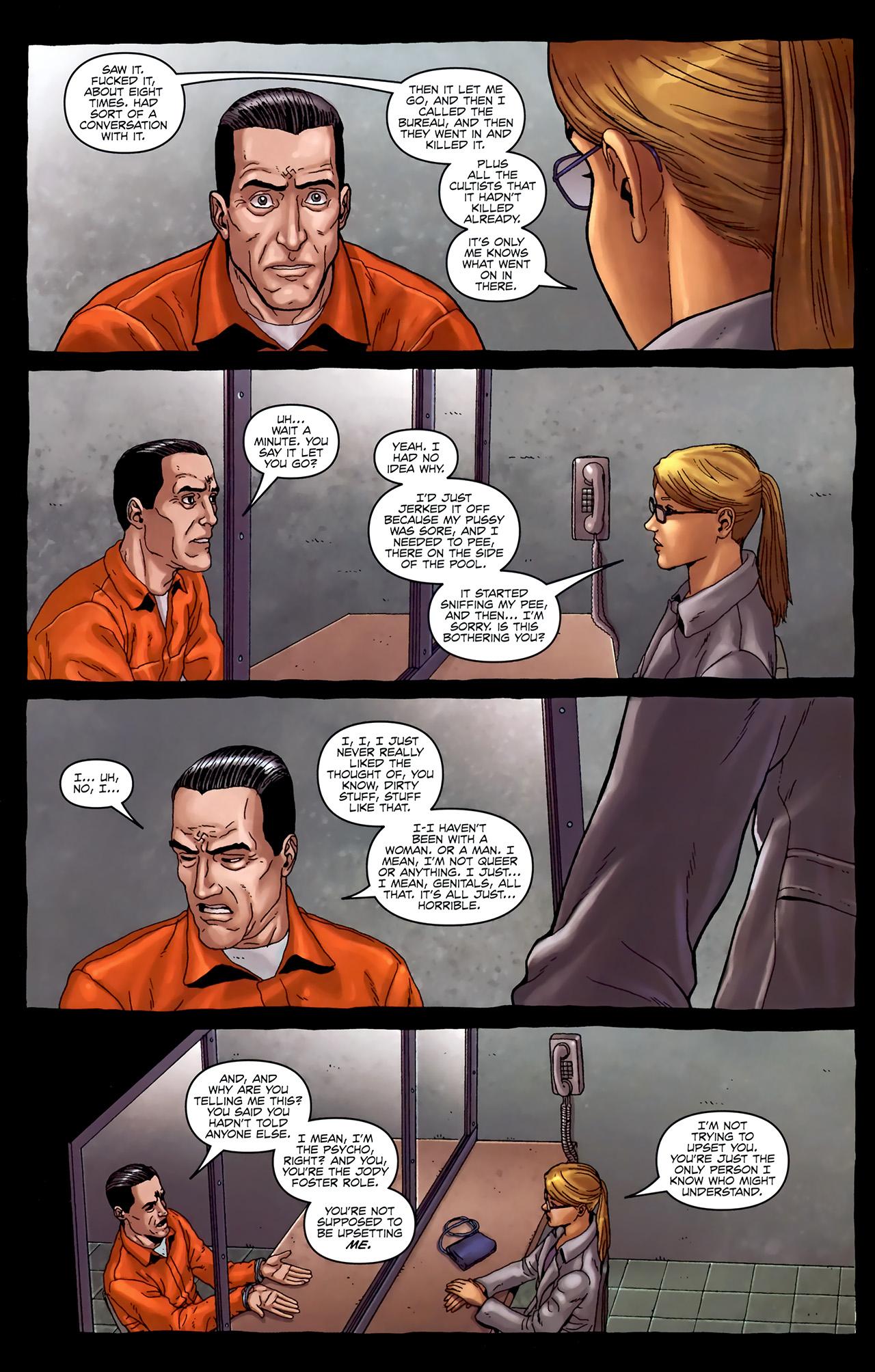 Read online Alan Moore's Neonomicon comic -  Issue #4 - 25