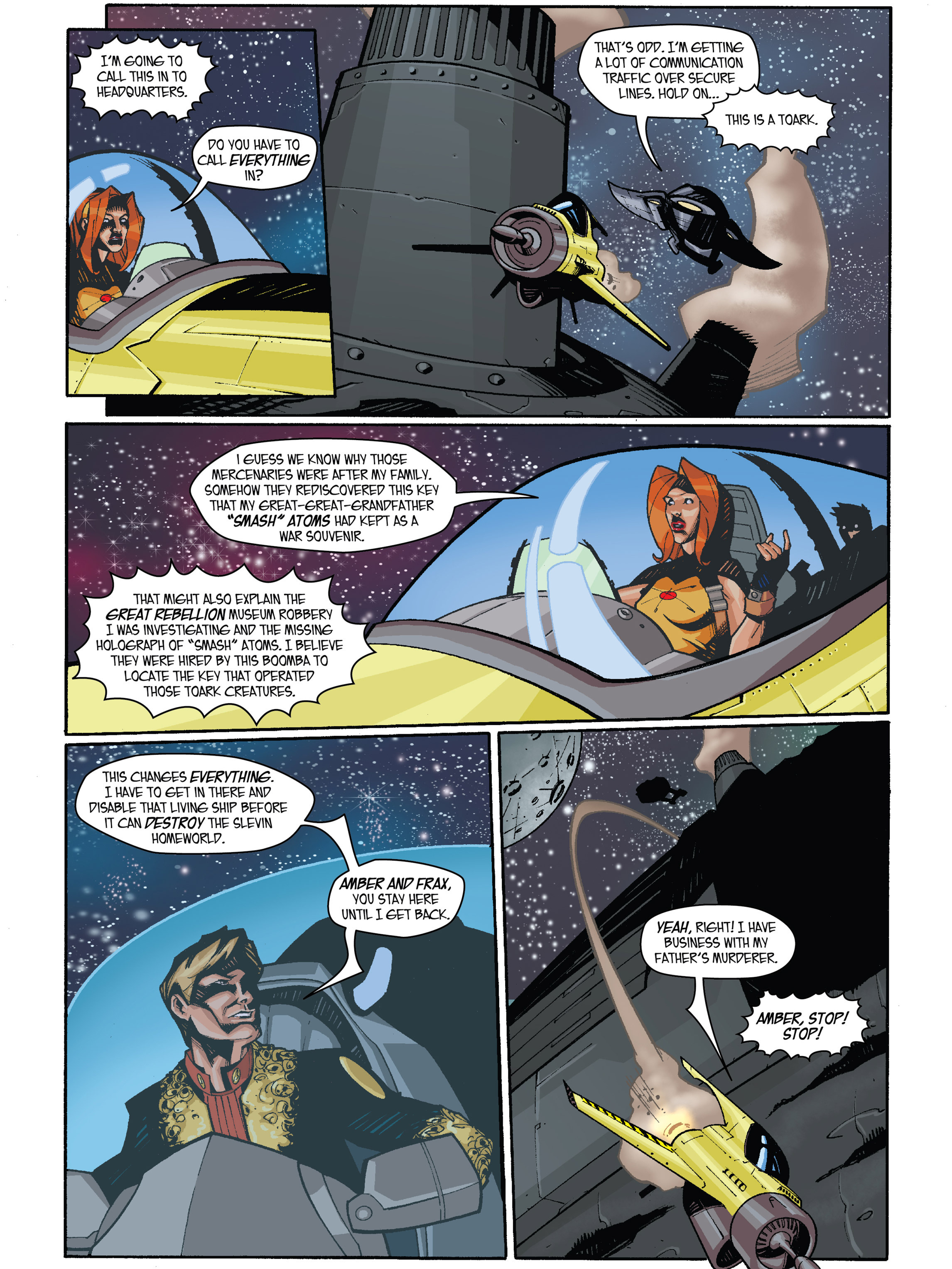 Read online Amber Atoms comic -  Issue #4 - 9