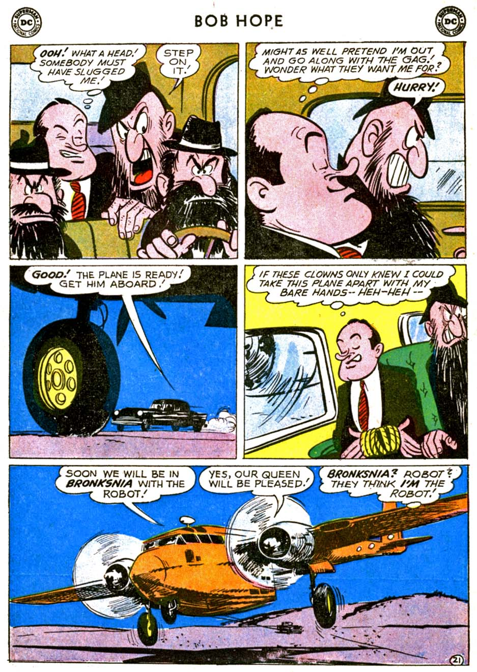 The Adventures of Bob Hope issue 68 - Page 27